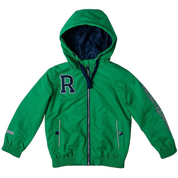 Куртка для мальчика PlayTodayВерхняя одежда<br>Характеристики товара:<br><br>• цвет: зеленый<br>• состав: 100% полиэстер, подкладка: 100% полиэстер<br>• без утеплителя<br>• температурный режим: от +10°С до +20°С<br>• декорирована вышивкой<br>• карманы<br>• защита подбородка<br>• молния<br>• эластичные манжеты<br>• светоотражающие элементы<br>• капюшон<br>• коллекция: весна-лето 2017<br>• страна бренда: Германия<br>• страна производства: Китай<br><br>Популярный бренд PlayToday выпустил новую коллекцию! Вещи из неё продолжают радовать покупателей удобством, стильным дизайном и продуманным кроем. Дети носят их с удовольствием. PlayToday - это линейка товаров, созданная специально для детей. Дизайнеры учитывают новые веяния моды и потребности детей. Порадуйте ребенка обновкой от проверенного производителя!<br>Такая демисезонная куртка обеспечит ребенку комфорт благодаря качественному материалу и продуманному крою. С помощью этой модели можно удобно одеться по погоде. Очень модная модель! Отлично подходит для переменной погоды межсезонья.<br><br>Куртку для мальчика от известного бренда PlayToday можно купить в нашем интернет-магазине.<br><br>Ширина мм: 356<br>Глубина мм: 10<br>Высота мм: 245<br>Вес г: 519<br>Цвет: белый<br>Возраст от месяцев: 24<br>Возраст до месяцев: 36<br>Пол: Мужской<br>Возраст: Детский<br>Размер: 98,128,122,116,110,104<br>SKU: 5401908