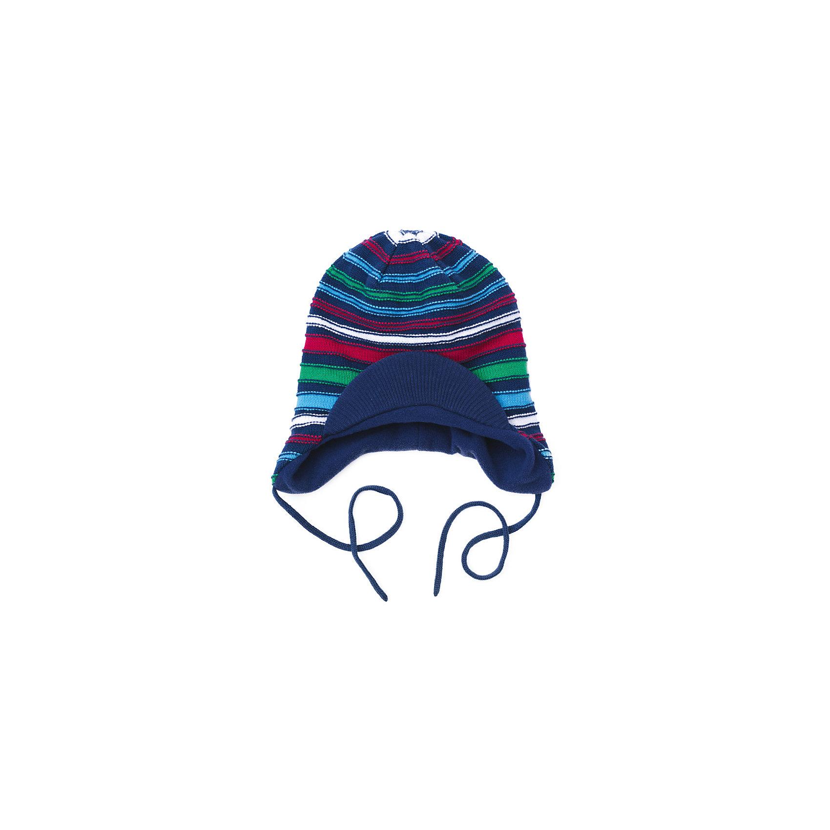 Шапка для мальчика PlayTodayДемисезонные<br>Шапка для мальчика PlayToday<br>Шапка для мальчика из трикотажа на подкладке  с козырьком и на завязках подойдет для прогулок в прохладную погоду.  Эргономичная конструкция этой шапки предохранит уши Вашего ребенка от сильного ветра. Плотно прилегает к голове <br><br>Преимущества: <br><br>Эргономичная конструкция защитит уши Вашего ребенка от сильного ветра<br>Шапка на подкладке<br>Плотно прилегает к голове<br><br>Состав:<br>60% хлопок, 40% акрил, Подкладка:100% полиэстер,<br><br>Ширина мм: 89<br>Глубина мм: 117<br>Высота мм: 44<br>Вес г: 155<br>Цвет: разноцветный<br>Возраст от месяцев: 24<br>Возраст до месяцев: 36<br>Пол: Мужской<br>Возраст: Детский<br>Размер: 50,54,52<br>SKU: 5402027