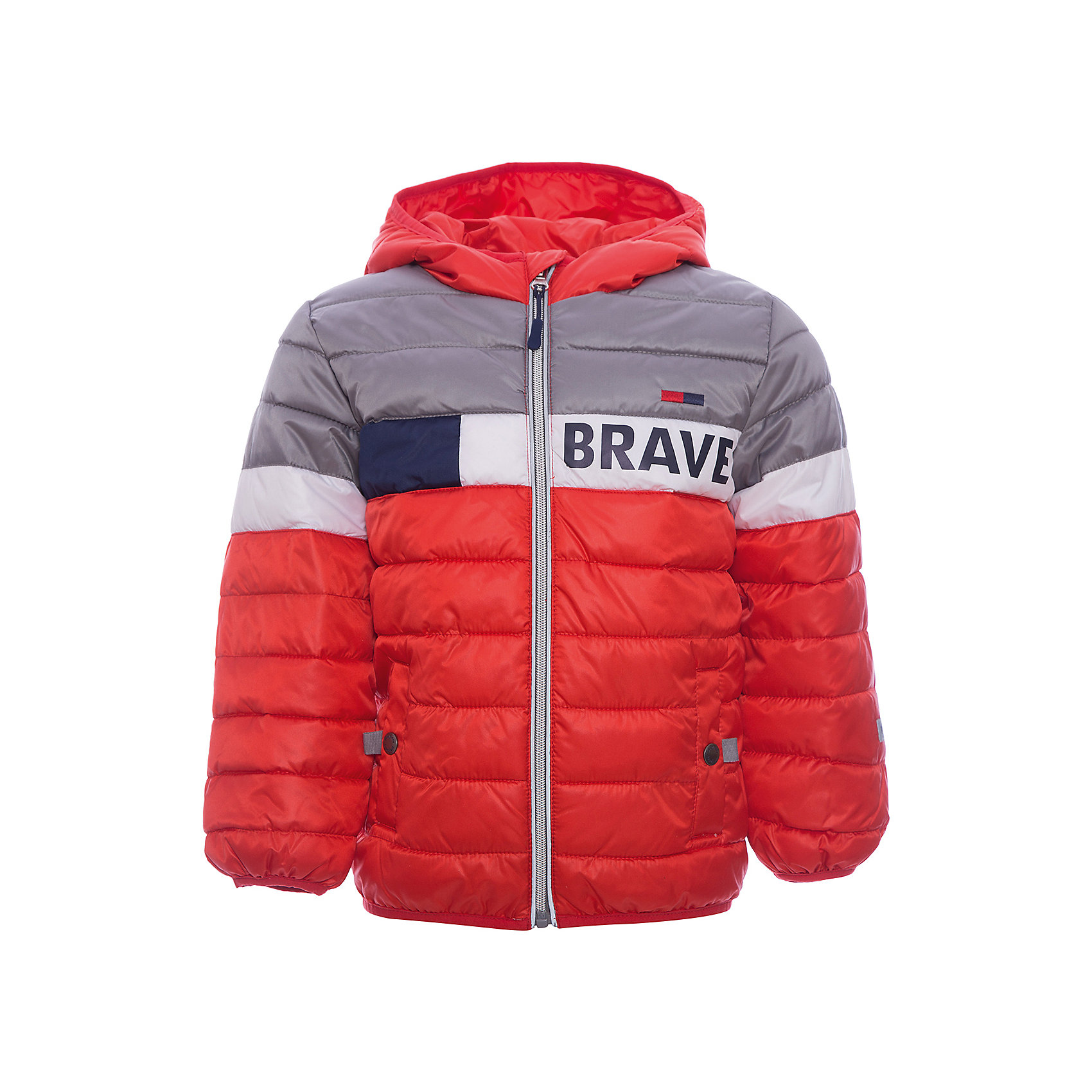 Куртка для мальчика PlayTodayВерхняя одежда<br>Характеристики товара:<br><br>• цвет: разноцветный<br>• состав: 100% полиэстер, подкладка: 80% хлопок, 20% полиэстер<br>• утеплитель: 100% полиэстер, 150 г/м2<br>• температурный режим: от +0°С до +15°С<br>• декорирована принтом<br>• карманы<br>• защита подбородка<br>• молния<br>• эластичные манжеты<br>• светоотражающие элементы<br>• капюшон<br>• коллекция: весна-лето 2017<br>• страна бренда: Германия<br>• страна производства: Китай<br><br>Популярный бренд PlayToday выпустил новую коллекцию! Вещи из неё продолжают радовать покупателей удобством, стильным дизайном и продуманным кроем. Дети носят их с удовольствием. PlayToday - это линейка товаров, созданная специально для детей. Дизайнеры учитывают новые веяния моды и потребности детей. Порадуйте ребенка обновкой от проверенного производителя!<br>Такая демисезонная куртка обеспечит ребенку комфорт благодаря качественному материалу и продуманному крою. С помощью этой модели можно удобно одеться по погоде. Очень модная модель! Отлично подходит для переменной погоды межсезонья.<br><br>Куртку для мальчика от известного бренда PlayToday можно купить в нашем интернет-магазине.<br><br>Ширина мм: 356<br>Глубина мм: 10<br>Высота мм: 245<br>Вес г: 519<br>Цвет: белый<br>Возраст от месяцев: 84<br>Возраст до месяцев: 96<br>Пол: Мужской<br>Возраст: Детский<br>Размер: 128,98,104,110,116,122<br>SKU: 5402070