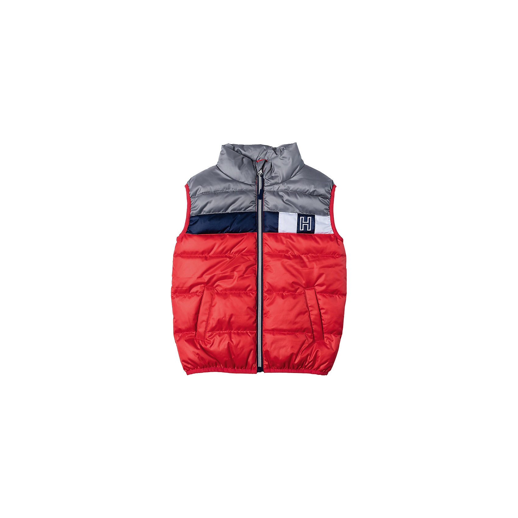 Жилет для мальчика PlayTodayВерхняя одежда<br>Характеристики товара:<br><br>• цвет: разноцветный<br>• состав: 100% полиэстер, подкладка: 100% полиэстер<br>• утеплитель: 100% полиэстер, 150 г/м2<br>• карманы<br>• защита подбородка<br>• молния<br>• эластичные проймы для рук<br>• светоотражающие элементы<br>• капюшон<br>• коллекция: весна-лето 2017<br>• страна бренда: Германия<br>• страна производства: Китай<br><br>Популярный бренд PlayToday выпустил новую коллекцию! Вещи из неё продолжают радовать покупателей удобством, стильным дизайном и продуманным кроем. Дети носят их с удовольствием. PlayToday - это линейка товаров, созданная специально для детей. Дизайнеры учитывают новые веяния моды и потребности детей. Порадуйте ребенка обновкой от проверенного производителя!<br>Такая демисезонная модель обеспечит ребенку комфорт благодаря качественному материалу и продуманному крою. С помощью неё можно удобно одеться по погоде. Очень модная вещь! Отлично подходит для переменной погоды межсезонья.<br><br>Жилет для мальчика от известного бренда PlayToday можно купить в нашем интернет-магазине.<br><br>Ширина мм: 356<br>Глубина мм: 10<br>Высота мм: 245<br>Вес г: 519<br>Цвет: белый<br>Возраст от месяцев: 36<br>Возраст до месяцев: 48<br>Пол: Мужской<br>Возраст: Детский<br>Размер: 104,116,122,128,98,110<br>SKU: 5402077