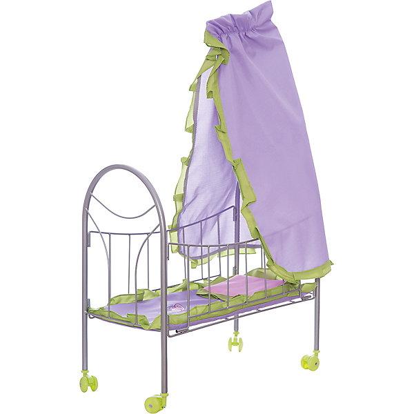 Кроватка для куклы с балдахином Бабочки, 47*27*76 см, Mary PoppinsМебель для кукол<br>Кроватка для куклы с балдахином Бабочки, 47*27*76 см, Mary Poppins.<br><br>Характеристики:<br><br>• Комплектация: кроватка, балдахин, комплект постельного белья<br>• Размер: 47х27х76 см.<br>• Материал: металл, текстиль, пластик<br><br>Отличительными особенностями кроватки для кукол Бабочки являются легкость конструкции и мобильность. Она оснащена колесиками, поэтому ее удобно перемещать по комнате. В наборе с кроватью есть комплект постельного белья и балдахин, украшенный рюшами. Кроватка отлично подойдет для сюжетно-ролевых игр в «дочки-матери». Игры с куклами благоприятно влияют на социализацию и полноценное формирование психики ребенка, учат эмоциональной отзывчивости.<br><br>Кроватку для куклы с балдахином Бабочки, 47*27*76 см, Mary Poppins можно купить в нашем интернет-магазине.<br><br>Ширина мм: 460<br>Глубина мм: 65<br>Высота мм: 280<br>Вес г: 1517<br>Возраст от месяцев: 24<br>Возраст до месяцев: 2147483647<br>Пол: Женский<br>Возраст: Детский<br>SKU: 5402749