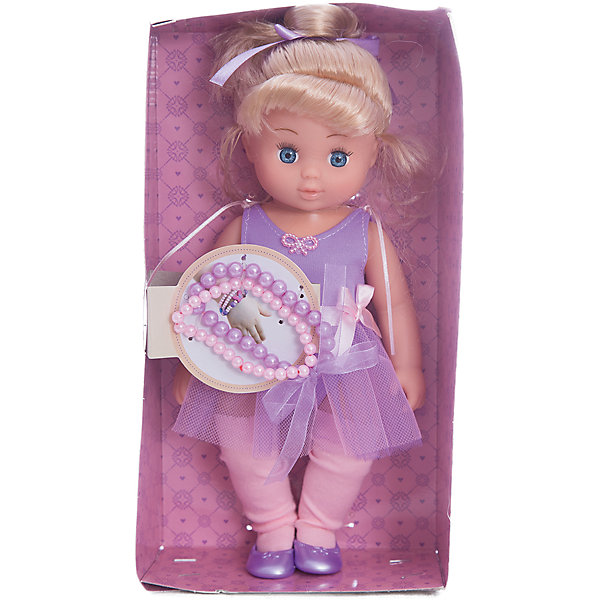 Кукла Диана Маленькая леди, Mary PoppinsКуклы<br>Характеристики:<br><br>• возраст: от 3 лет;<br>• материал: текстиль, ПВХ, пластмасса;<br>• высота куклы: 26 см;<br>• комплект: кукла, браслет из бусин;<br>• вес упаковки: 330 гр.;<br>• размер упаковки: 29х16х8 см;<br>• страна производитель: Китай.<br><br>Очаровательная куколка Диана от Mary Poppins одета в сиреневое платьице и туфельки. Кукла обладает миловидным лицом, ей можно менять прическу. Ребенок сможет брать игрушку с собой в ванную, чтобы разнообразить игровые сюжеты. Голова куклы крутится.<br><br>Кроме того, в комплекте есть браслет, который девочка сможет носить сама или украсить им куклу. Игры в «дочки-матери» развивают чувство ответственности, знакомят с социальными отношениями.<br><br>Куклу «Диана маленькая леди», Mary Poppins можно купить в нашем интернет-магазине.<br>Ширина мм: 160; Глубина мм: 85; Высота мм: 300; Вес г: 365; Возраст от месяцев: 24; Возраст до месяцев: 2147483647; Пол: Женский; Возраст: Детский; SKU: 5402751;