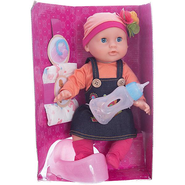 Кукла Элли Позаботься обо мне, 32 см, Mary PoppinsКуклы<br>Кукла Элли Позаботься обо мне, 32 см, Mary Poppins.<br><br>Характеристики:<br><br>• Комплектация: кукла, горшок, бутылочка, подгузник<br>• Высота куклы: 32 см.<br>• Материал: ПВХ, пластик, текстиль<br>• Упаковка: картонная коробка блистерного типа<br>• Размер упаковки: 23х13х34 см.<br><br>Кукла Элли торговой марки Mary Poppins с функцией Пью и писаю отлично подойдет для сюжетно-ролевых игр в «дочки-матери». В комплекте с куклой поставляется горшок, бутылочка и настоящий подгузник. Можно напоить куколку из бутылочки водой и посадить на горшок или надеть ей подгузник. Кукла одета в стильный сарафан, кофточку, носочки и шапочку с цветком из эксклюзивной коллекции Цветочки. Элли можно купать в ванной (тельце у куклы твердое) и укладывать спать - в горизонтальном положении ее глаза закрываются.<br><br>Куклу Элли Позаботься обо мне, 32 см, Mary Poppins можно купить в нашем интернет-магазине.<br><br>Ширина мм: 225<br>Глубина мм: 130<br>Высота мм: 340<br>Вес г: 750<br>Возраст от месяцев: 24<br>Возраст до месяцев: 2147483647<br>Пол: Женский<br>Возраст: Детский<br>SKU: 5402755