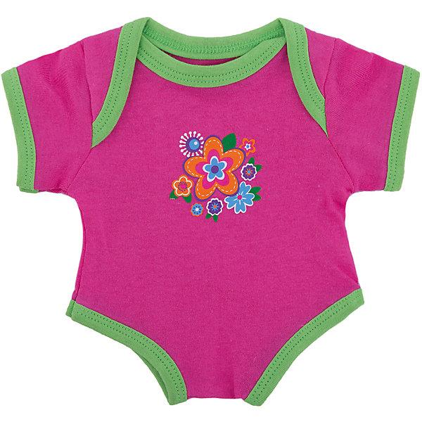 Одежда для куклы 38-43 см, боди Цветочек, Mary PoppinsОдежда для кукол<br>Одежда для куклы 38-43 см, боди Цветочек, Mary Poppins.<br><br>Характеристики:<br><br>• Комплектация: боди, вешалка<br>• Высота куклы: 38-43 см.<br>• Материал: текстиль<br>• Основной цвет: розовый<br>• Упаковка: пакет<br>• Уход: стирка в стиральной машине при температуре 30 ?С<br><br>Куклы тоже любят менять наряды! И для них создается стильная и модная одежда, похожая на одежду для настоящих малышей. Это боди розового цвета с контрастной окантовкой, украшенное изображением цветов, из эксклюзивной коллекции Цветочек ТМ Mary Poppins, пополнит гардероб куклы высотой 38-43 см. Боди для куклы изготовлено из приятной на ощупь ткани, его легко снимать и одевать.<br><br>Одежду для куклы 38-43 см, боди Цветочек, Mary Poppins можно купить в нашем интернет-магазине.<br><br>Ширина мм: 220<br>Глубина мм: 330<br>Высота мм: 10<br>Вес г: 36<br>Возраст от месяцев: 24<br>Возраст до месяцев: 2147483647<br>Пол: Женский<br>Возраст: Детский<br>SKU: 5402764