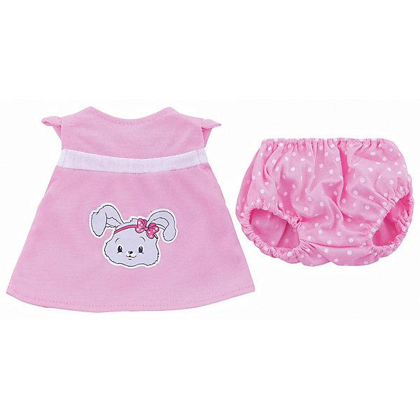 Одежда для куклы 42 см, кофточка и штанишки, Mary PoppinsОдежда для кукол<br>Одежда для куклы 42 см, кофточка и штанишки, Mary Poppins.<br><br>Характеристики:<br><br>• Комплектация: кофточка, штанишки, вешалка<br>• Высота куклы: 38-42 см.<br>• Материал: текстиль<br>• Цвет: розовый, белый<br>• Упаковка: пакет<br>• Уход: стирка в стиральной машине при температуре 30 ?С<br><br>Куклы тоже любят менять наряды! И для них создается стильная и модная одежда, похожая на одежду для настоящих малышей. Этот летний костюмчик из эксклюзивной коллекции Зайка ТМ Mary Poppins пополнит гардероб куклы высотой 38-42 см. Костюмчик состоит из кофточки с ярким принтом и штанишек в горошек. Наряд для куклы изготовлен из приятной на ощупь ткани, его легко снимать и одевать.<br><br>Одежду для куклы 42 см, кофточка и штанишки, Mary Poppins можно купить в нашем интернет-магазине.<br><br>Ширина мм: 220<br>Глубина мм: 330<br>Высота мм: 10<br>Вес г: 74<br>Возраст от месяцев: 24<br>Возраст до месяцев: 2147483647<br>Пол: Женский<br>Возраст: Детский<br>SKU: 5402767