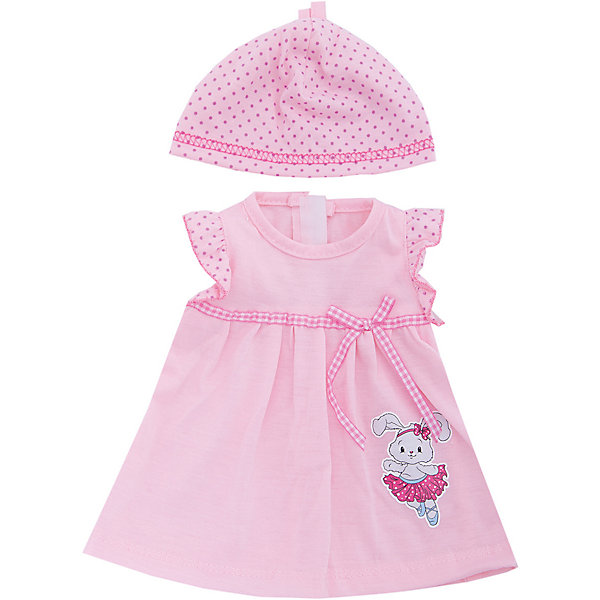 Одежда для куклы 42 см, платье с аксессуарами, Mary PoppinsОдежда для кукол<br>Одежда для куклы 42 см, платье с аксессуарами, Mary Poppins.<br><br>Характеристики:<br><br>• Комплектация: платье, шапочка, вешалка<br>• Высота куклы: 38-42 см.<br>• Материал: текстиль<br>• Цвет: розовый<br>• Упаковка: пакет<br>• Уход: стирка в стиральной машине при температуре 30 ?С<br><br>Куклы тоже любят менять наряды! И для них создается стильная и модная одежда, похожая на одежду для настоящих малышей. Эти платье и шапочка нежно-розового цвета из эксклюзивной коллекции Зайка ТМ Mary Poppins пополнят гардероб куклы высотой 38-42 см. Несмотря на свой достаточно простой фасон, платье выглядит очень нарядно. Его украшает узкий клетчатый поясок с бантом и изображение в виде зайчонка в балетной пачке. А милая шапочка в горошек красиво дополнит образ куклы. Наряд для куклы изготовлен из приятной на ощупь ткани, благодаря липучкам платье легко снимать и одевать.<br><br>Одежду для куклы 42 см, платье с аксессуарами, Mary Poppins можно купить в нашем интернет-магазине.<br>Ширина мм: 220; Глубина мм: 330; Высота мм: 10; Вес г: 88; Возраст от месяцев: 24; Возраст до месяцев: 2147483647; Пол: Женский; Возраст: Детский; SKU: 5402770;