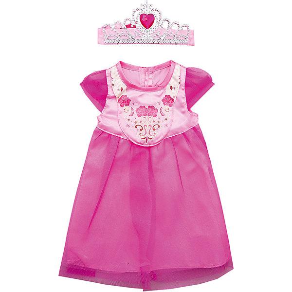 Одежда для куклы 42 см, платье с аксессуаром, Mary PoppinsОдежда для кукол<br>Одежда для куклы 42 см, платье с аксессуарами, Mary Poppins.<br><br>Характеристики:<br><br>• Комплектация: платье, диадема, волшебная палочка, вешалка<br>• Высота куклы: 38-42 см.<br>• Материал: текстиль<br>• Цвет: розовый<br>• Упаковка: пакет<br>• Уход: стирка в стиральной машине при температуре 30 ?С<br><br>Куклы тоже любят менять наряды! И для них создается стильная и модная одежда. Это платье из эксклюзивной коллекции Цветочки ТМ Mary Poppins пополнит гардероб куклы высотой 38-42 см. Платье сшито из атласа и сеточки, украшено рисунком. В комплекте имеется диадема и волшебная палочка, которые дополнят образ куклы. Нарядив свою любимую куклу, девочка сможет взять ее на праздник или же придумать торжество у себя дома. Платье для куклы легко снимать и одевать.<br><br>Одежду для куклы 42 см, платье с аксессуарами, Mary Poppins можно купить в нашем интернет-магазине.<br><br>Ширина мм: 220<br>Глубина мм: 330<br>Высота мм: 10<br>Вес г: 81<br>Возраст от месяцев: 24<br>Возраст до месяцев: 2147483647<br>Пол: Женский<br>Возраст: Детский<br>SKU: 5402771