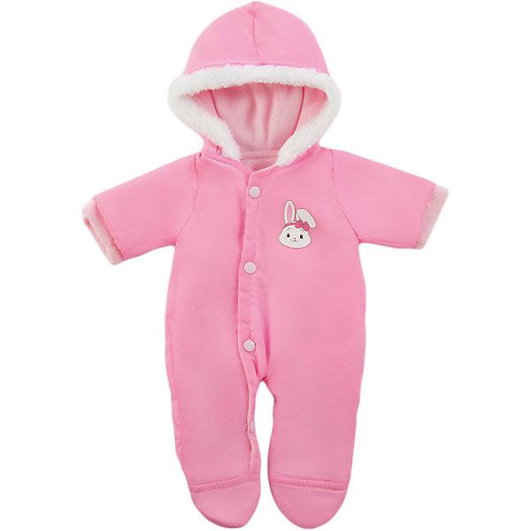Одежда для куклы 42 см, теплый комбинезон, Mary PoppinsОдежда для кукол<br>Одежда для куклы 42 см, теплый комбинезон, Mary Poppins.<br><br>Характеристики:<br><br>• Комплектация: комбинезон, вешалка<br>• Высота куклы: 38-42 см.<br>• Материал: текстиль<br>• Цвет: розовый, белый<br>• Упаковка: пакет<br>• Уход: стирка в стиральной машине при температуре 30 ?С<br><br>Куклы тоже любят менять наряды! И для них создается стильная и модная одежда, похожая на одежду для настоящих малышей. Этот розовый комбинезон с белым мехом на капюшоне и принтом в виде зайчика из эксклюзивной коллекции Зайка ТМ Mary Poppins пополнит гардероб куклы высотой 38-42 см. Комбинезон для куклы изготовлен из приятной на ощупь ткани, благодаря кнопкам его легко снимать и одевать.<br><br>Одежду для куклы 42 см, теплый комбинезон, Mary Poppins можно купить в нашем интернет-магазине.<br><br>Ширина мм: 220<br>Глубина мм: 330<br>Высота мм: 10<br>Вес г: 130<br>Возраст от месяцев: 24<br>Возраст до месяцев: 2147483647<br>Пол: Женский<br>Возраст: Детский<br>SKU: 5402773