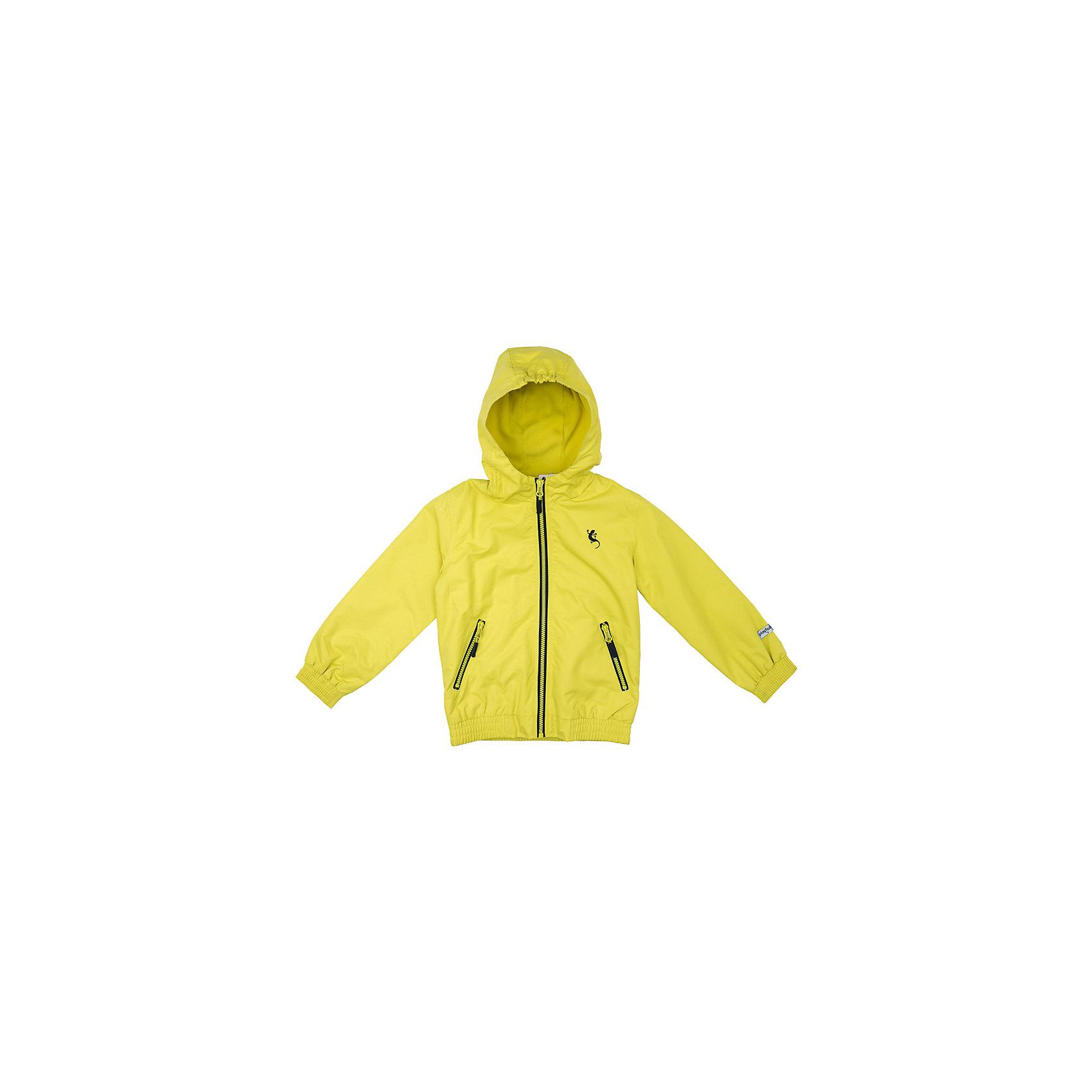 Куртка для мальчика PlayTodayВерхняя одежда<br>Куртка для мальчика PlayToday<br>Практичная яркая куртка  со специальной водоотталкивающей пропиткой защитит Вашего ребенка в любую погоду! Мягкие  резинки на рукавах и по низу изделия защитят Вашего ребенка - ветер не сможет проникнуть под куртку.  Модель с резинкой на капюшоне - даже во время активных игр капюшон не упадет с головы ребенка. Светоотражатели на рукаве и по низу изделия - один из гарантов безопасности, ребенок будет виден в темное время суток.Преимущества: Водоооталкивающая тканьМодель с резинкой на капюшоне.Светоотражатели на рукаве и по низу изделия.<br>Состав:<br>Верх: 100% полиэстер, подкладка: 100% полиэстер<br><br>Ширина мм: 356<br>Глубина мм: 10<br>Высота мм: 245<br>Вес г: 519<br>Цвет: желтый<br>Возраст от месяцев: 84<br>Возраст до месяцев: 96<br>Пол: Мужской<br>Возраст: Детский<br>Размер: 128,98,104,110,116,122<br>SKU: 5403179
