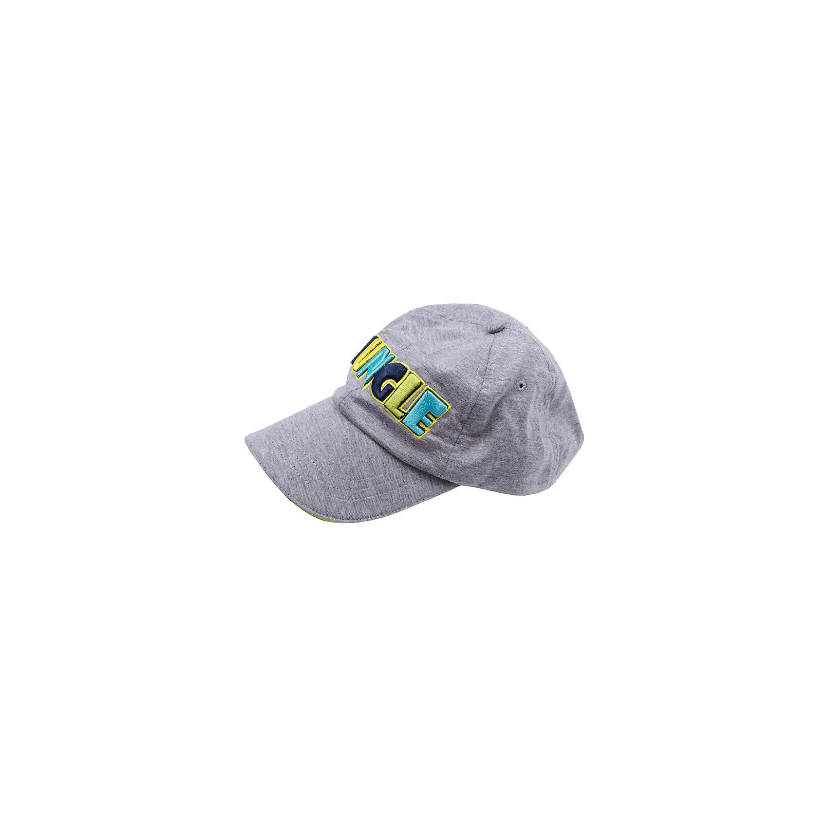 Кепка для мальчика PlayTodayГоловные уборы<br>Характеристики товара:<br><br>• цвет: серый<br>• состав: 60% хлопок, 40% полиэстер<br>• козырек<br>• плотно прилегает к голове<br>• дышащий материал<br>• эластичный трикотаж<br>• вышивка<br>• комфортная посадка<br>• коллекция: весна-лето 2017<br>• страна бренда: Германия<br>• страна производства: Китай<br><br>Популярный бренд PlayToday выпустил новую коллекцию! Вещи из неё продолжают радовать покупателей удобством, стильным дизайном и продуманным кроем. Дети носят их с удовольствием. PlayToday - это линейка товаров, созданная специально для детей. Дизайнеры учитывают новые веяния моды и потребности детей. Порадуйте ребенка обновкой от проверенного производителя!<br>Такая стильная модель обеспечит ребенку комфорт благодаря качественному материалу и продуманному крою. С помощью неё можно удобно одеться по погоде. Очень модная вещь! <br><br>Кепку для мальчика от известного бренда PlayToday можно купить в нашем интернет-магазине.<br><br>Ширина мм: 89<br>Глубина мм: 117<br>Высота мм: 44<br>Вес г: 155<br>Цвет: серый<br>Возраст от месяцев: 72<br>Возраст до месяцев: 84<br>Пол: Мужской<br>Возраст: Детский<br>Размер: 54,50,52<br>SKU: 5403323