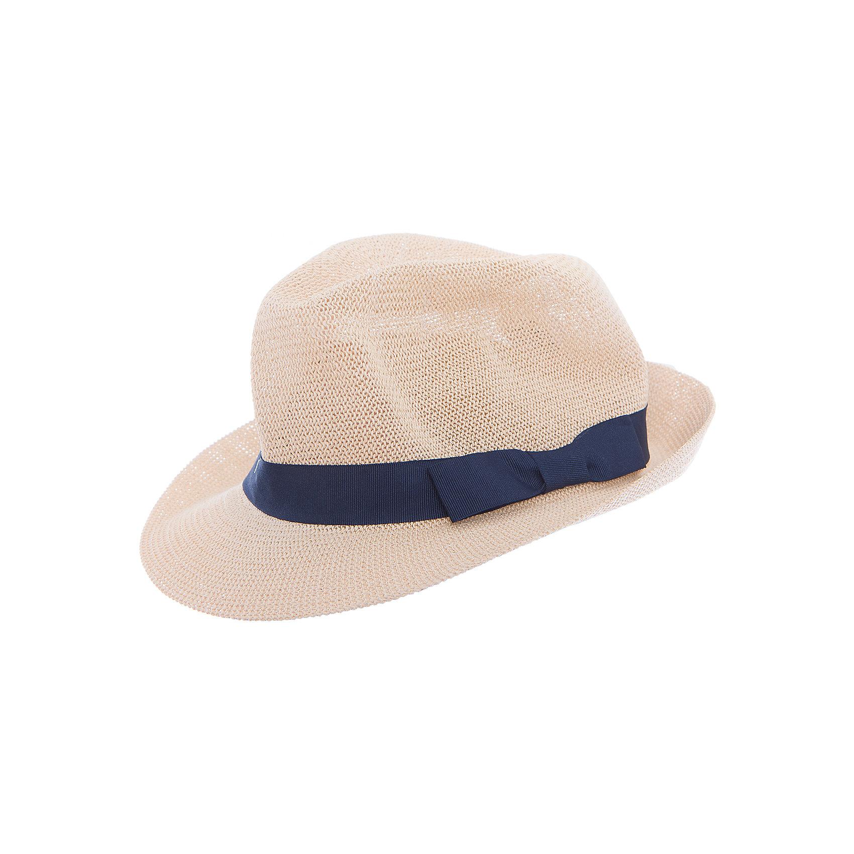 Шляпа для мальчика PlayTodayЛетние<br>Характеристики товара:<br><br>• цвет: бежевый<br>• состав: 100% бумажная соломка<br>• декорирована широкой лентой<br>• дышащий материал<br>• хорошая защита от солнца<br>• комфортная посадка<br>• коллекция: весна-лето 2017<br>• страна бренда: Германия<br>• страна производства: Китай<br><br>Популярный бренд PlayToday выпустил новую коллекцию! Вещи из неё продолжают радовать покупателей удобством, стильным дизайном и продуманным кроем. Дети носят их с удовольствием. PlayToday - это линейка товаров, созданная специально для детей. Дизайнеры учитывают новые веяния моды и потребности детей. Порадуйте ребенка обновкой от проверенного производителя!<br>Такая стильная модель обеспечит ребенку комфорт благодаря качественному материалу и продуманному крою. С помощью неё можно удобно одеться по погоде. Очень модная вещь! <br><br>Шляпу для мальчика от известного бренда PlayToday можно купить в нашем интернет-магазине.<br><br>Ширина мм: 89<br>Глубина мм: 117<br>Высота мм: 44<br>Вес г: 155<br>Цвет: белый<br>Возраст от месяцев: 72<br>Возраст до месяцев: 84<br>Пол: Мужской<br>Возраст: Детский<br>Размер: 54,50,52<br>SKU: 5403331