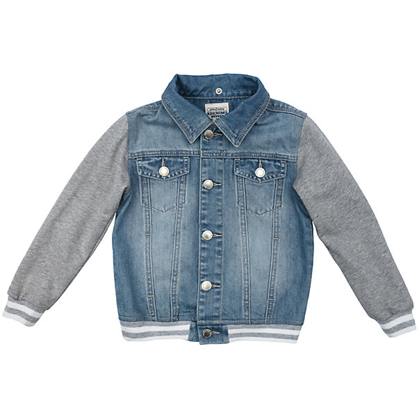 Куртка джинсовая для мальчика PlayTodayДжинсовая одежда<br>Характеристики товара:<br><br>• цвет: разноцветный<br>• состав: 80% хлопок, 20% полиэстер<br>• без утеплителя<br>• температурный режим: от +10°С до +20°С<br>• отложной воротник<br>• мягкая резинка по низу изделия<br>• с эффектом потертости<br>• эластичные манжеты<br> пуговицы<br>• коллекция: весна-лето 2017<br>• страна бренда: Германия<br>• страна производства: Китай<br><br>Популярный бренд PlayToday выпустил новую коллекцию! Вещи из неё продолжают радовать покупателей удобством, стильным дизайном и продуманным кроем. Дети носят их с удовольствием. PlayToday - это линейка товаров, созданная специально для детей. Дизайнеры учитывают новые веяния моды и потребности детей. Порадуйте ребенка обновкой от проверенного производителя!<br>Такая легкая куртка обеспечит ребенку комфорт благодаря качественному материалу и продуманному крою. С помощью этой модели можно удобно одеться по погоде. Очень модная модель! Отлично подходит для переменной погоды межсезонья.<br><br>Куртку для мальчика от известного бренда PlayToday можно купить в нашем интернет-магазине.<br>Ширина мм: 356; Глубина мм: 10; Высота мм: 245; Вес г: 519; Цвет: белый; Возраст от месяцев: 24; Возраст до месяцев: 36; Пол: Мужской; Возраст: Детский; Размер: 128,104,110,116,98,122; SKU: 5403375;