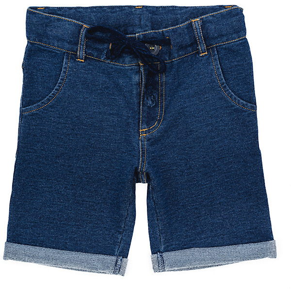 Шорты джинсовые для мальчика PlayTodayШорты, бриджи, капри<br>Характеристики товара:<br><br>• цвет: синий<br>• состав: 70% хлопок, 30% полиэстер<br>• качественный материал<br>• карманы<br>• шнурок-регулировка размера <br>• комфортная посадка<br>• коллекция: весна-лето 2017<br>• страна бренда: Германия<br>• страна производства: Китай<br><br>Популярный бренд PlayToday выпустил новую коллекцию! Вещи из неё продолжают радовать покупателей удобством, стильным дизайном и продуманным кроем. Дети носят их с удовольствием. PlayToday - это линейка товаров, созданная специально для детей. Дизайнеры учитывают новые веяния моды и потребности детей. Порадуйте ребенка обновкой от проверенного производителя!<br>Эта модель обеспечит ребенку комфорт благодаря качественному материалу и удобному крою. С её помощью можно сделать интересный акцент в образе, дополнить наряд и одеться по погоде. Очень модная вещь! Выглядит стильно и аккуратно.<br><br>Шорты для мальчика от известного бренда Scool можно купить в нашем интернет-магазине.<br>Ширина мм: 191; Глубина мм: 10; Высота мм: 175; Вес г: 273; Цвет: синий; Возраст от месяцев: 24; Возраст до месяцев: 36; Пол: Мужской; Возраст: Детский; Размер: 98,128,122,116,110,104; SKU: 5403431;