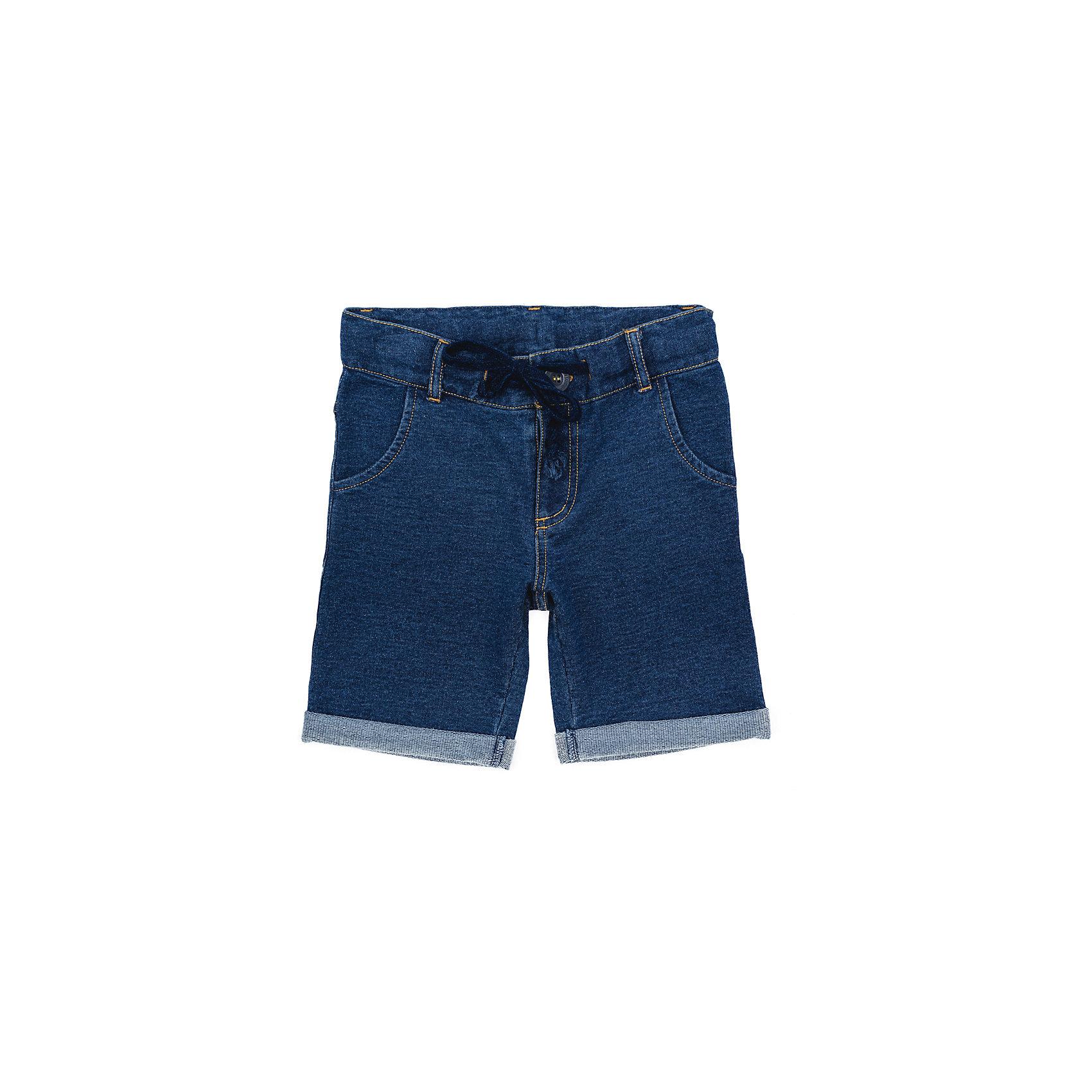 Шорты джинсовые для мальчика PlayTodayДжинсовая одежда<br>Шорты джинсовые для мальчика PlayToday<br>Удлиненные шорты из смесовой ткани прекрасно подойдут для отдыха и прогулок. Модель мягкой резинке со шлевками и с регулируемым шнуром - кулиской.Преимущества: Свободный классический крой не сковывает движения ребенкаМодель со шлевками, при необходимости можно использовать ремень<br>Состав:<br>70% хлопок, 30% полиэстер<br><br>Ширина мм: 191<br>Глубина мм: 10<br>Высота мм: 175<br>Вес г: 273<br>Цвет: синий<br>Возраст от месяцев: 84<br>Возраст до месяцев: 96<br>Пол: Мужской<br>Возраст: Детский<br>Размер: 128,98,104,110,116,122<br>SKU: 5403431