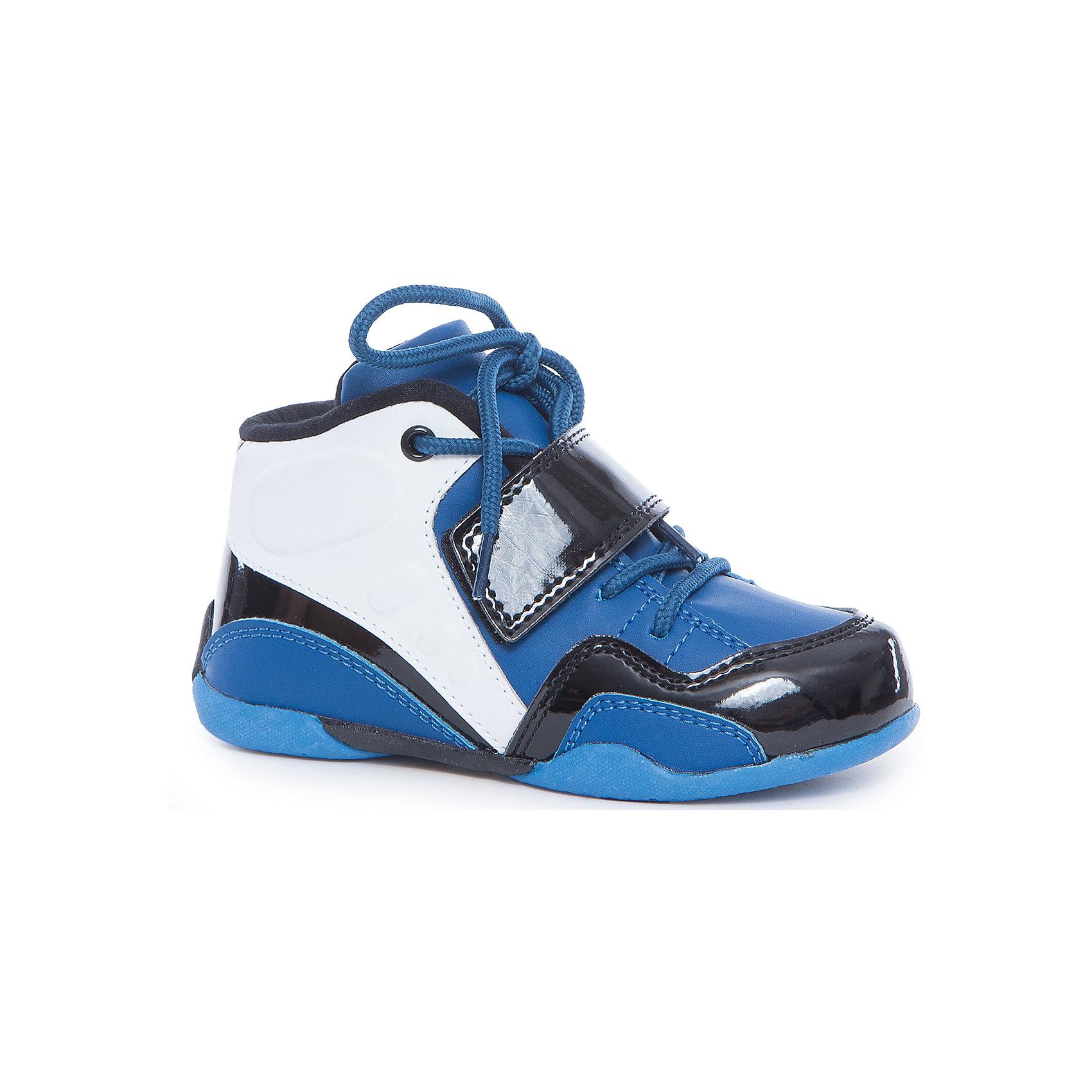 Ботинки для мальчика PlayTodayБотинки<br>Ботинки для мальчика PlayToday<br>Стильные ботинки с липучкой и на шнуровке прекрасно подойдут для ежедневных прогулок. Подошва из гибкого, не скользящего материала. Рифление обеспечивает хорошее сцепление с поверхностью. Удобная пятка укреплена жестким задником. Модель плотно садится на ноге ребенка, что обеспечивает комфорт при носке.  <br><br>Преимущества: <br><br>Подошва из гибкого, нескользящего материала<br>Рифление подошвы обеспечивает хорошее сцепление с поверхностью<br>Удобная пятка укреплена жестким задником<br><br>Состав:<br>100% полиуретан<br><br>Ширина мм: 262<br>Глубина мм: 176<br>Высота мм: 97<br>Вес г: 427<br>Цвет: разноцветный<br>Возраст от месяцев: 48<br>Возраст до месяцев: 60<br>Пол: Мужской<br>Возраст: Детский<br>Размер: 29,30,31,28,32,27<br>SKU: 5403484