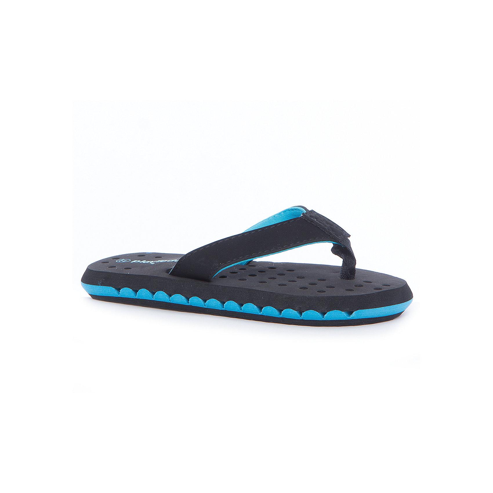 Шлепанцы для мальчика PlayTodayПляжная обувь<br>Пантолеты для мальчика PlayToday<br>Легкие пантолеты выполнены из мягкого водонепроницаемого материала. Внутрення часть подошвы перфорированная, что обеспечивает дополнительную вентиляцию стопы. Прекрасно подойдут для похода в бассейн или для поездки на плажПреимущества: Мягкий водонепроницаемый материалПерфорированная подошва обеспечивает дополнительную вентиляцию стопы<br>Состав:<br>100% этилвинилацетат<br><br>Ширина мм: 225<br>Глубина мм: 139<br>Высота мм: 112<br>Вес г: 290<br>Цвет: разноцветный<br>Возраст от месяцев: 96<br>Возраст до месяцев: 108<br>Пол: Мужской<br>Возраст: Детский<br>Размер: 32,27,28,29,30,31<br>SKU: 5403515