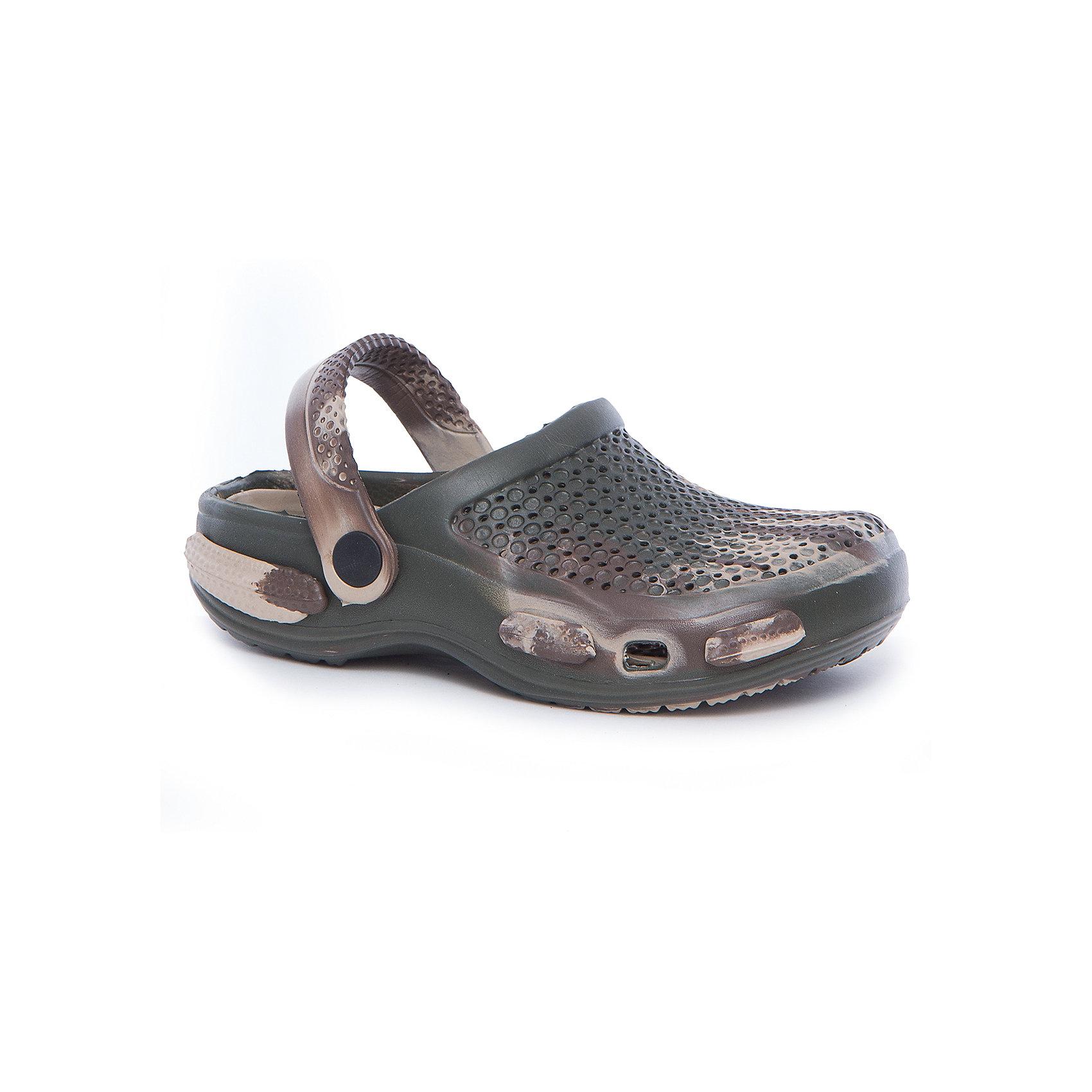 Сабо для мальчика PlayTodayПляжная обувь<br>Пантолеты для мальчика PlayToday<br>Удобные пантолеты (кроксы) прекрасно подойдут и для поездки на пляж, и для дачи. Модель с подвижным запяточным ремнем, который можно откинуть , что позволяет легко снимать и одевать обувь. Изготовлены из легкого материала. Перфорация в верхней части обеспечивает вентиляцию ноги<br>Состав:<br>100% этилвинилацетат<br><br>Ширина мм: 225<br>Глубина мм: 139<br>Высота мм: 112<br>Вес г: 290<br>Цвет: разноцветный<br>Возраст от месяцев: 96<br>Возраст до месяцев: 108<br>Пол: Мужской<br>Возраст: Детский<br>Размер: 32,28,29,30,31<br>SKU: 5403522