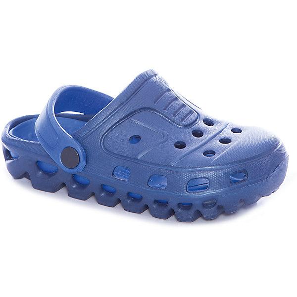 Сабо для мальчика PlayTodayПляжная обувь<br>Характеристики товара:<br><br>• цвет: синий<br>• состав: этилвинилацетат<br>• стильный дизайн<br>• фиксация пятки<br>• качественный материал<br>• устойчивая подошва<br>• легкие<br>• комфортная посадка<br>• коллекция: весна-лето 2017<br>• страна бренда: Германия<br>• страна производства: Китай<br><br>Популярный бренд PlayToday выпустил новую коллекцию! Вещи из неё продолжают радовать покупателей удобством, стильным дизайном и продуманным кроем. Дети носят их с удовольствием. PlayToday - это линейка товаров, созданная специально для детей. Дизайнеры учитывают новые веяния моды и потребности детей. Порадуйте ребенка обновкой от проверенного производителя!<br>Эти пантолеты обеспечат ребенку комфорт благодаря качественному материалу и удобной форме. Они удобно сидят, не сковывают движения - отличный вариант обуви для детей. Не натирают, позволяют коже дышать.<br><br>Пантолеты для мальчика от известного бренда PlayToday можно купить в нашем интернет-магазине.<br>Ширина мм: 225; Глубина мм: 139; Высота мм: 112; Вес г: 290; Цвет: белый; Возраст от месяцев: 48; Возраст до месяцев: 60; Пол: Мужской; Возраст: Детский; Размер: 28,32,31,30,29; SKU: 5403528;
