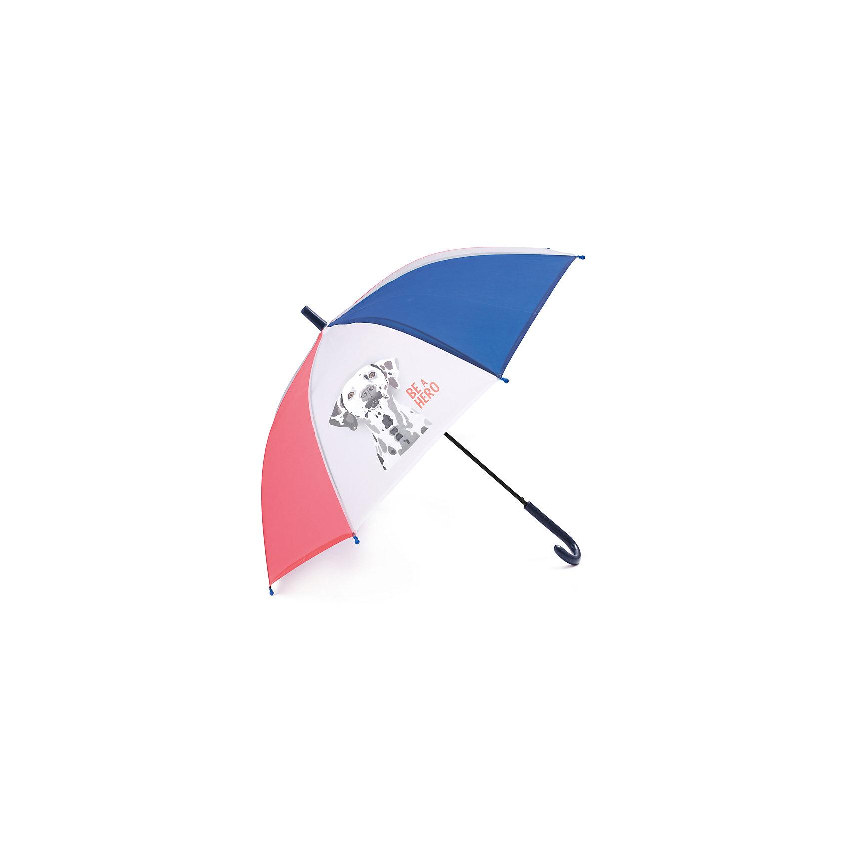 Зонт для мальчика PlayTodayЗонты<br>Зонт для мальчика PlayToday<br>Этот яркий цветной зонтик обязательно понравится Вашему ребенку! Оснащен специальной безопасной системой открывания и закрывания. Материал каркаса ветроустойчивый. Концы спиц снабжены пластмассовыми наконечниками для защиты от травм. Такой зонт идеально подойдет для прогулок в дождливую погоду. <br><br>Преимущества: <br><br>Оснащен специальной безопасной системой открывания и закрывания<br>Концы спиц снабжены пластмассовыми наконечниками для защиты от травм<br><br>Состав:<br>Каркас: 100:сталь; Купол: 100%полиэстер; Ручка:100% АБС пластик<br><br>Ширина мм: 170<br>Глубина мм: 157<br>Высота мм: 67<br>Вес г: 117<br>Цвет: разноцветный<br>Возраст от месяцев: 60<br>Возраст до месяцев: 144<br>Пол: Мужской<br>Возраст: Детский<br>Размер: one size<br>SKU: 5403591
