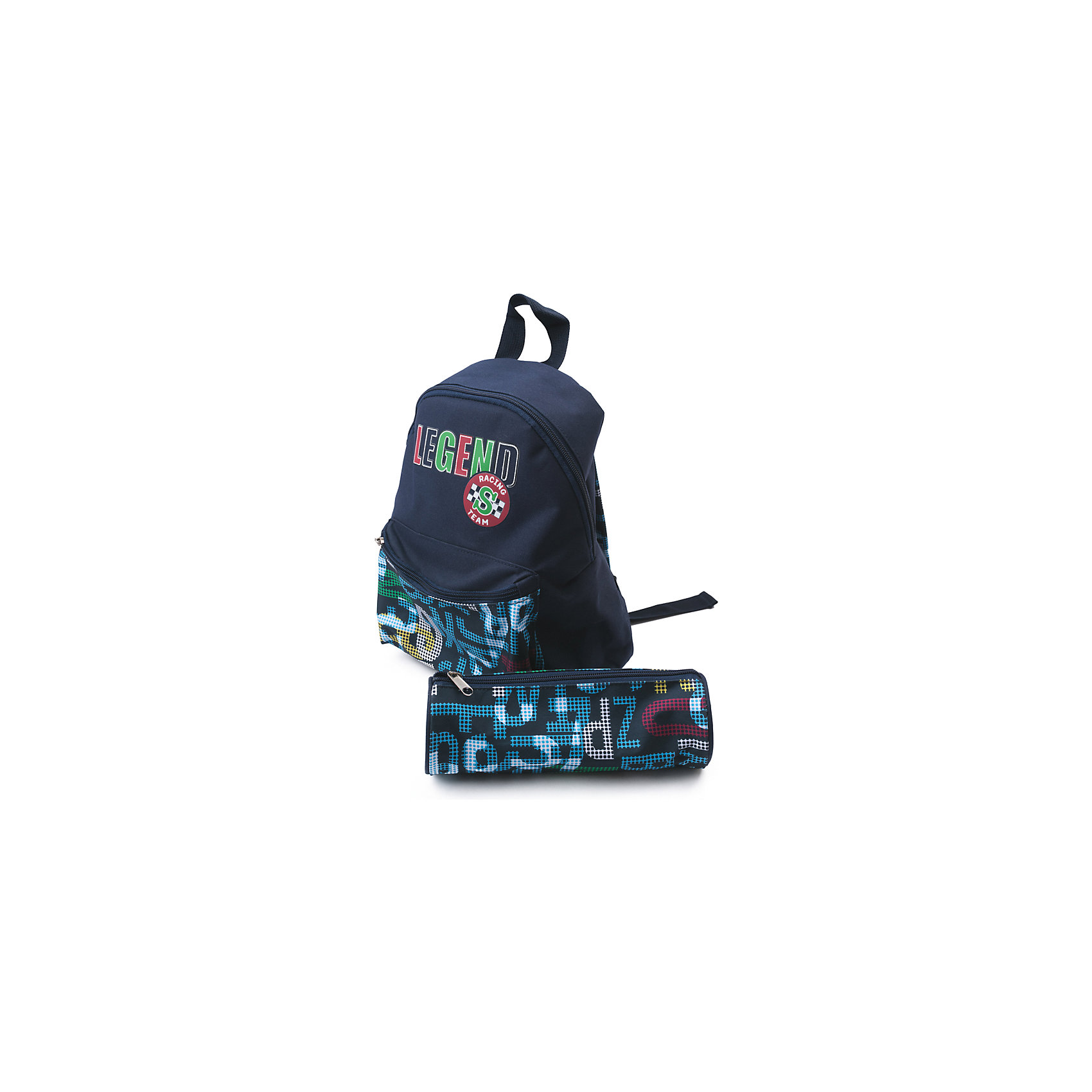 Сумка для мальчика PlayTodayСумки и рюкзаки<br>Сумка для мальчика PlayToday<br>Этот рюкзак понравится Вашему ребенку! В нем поместятся все необходимые  принадлежности. Выполнен из прочного безопасного материала. В комплекте мягкий пенал аналогичной расцветкиПреимущества: Лямки, регулируемые по длинеВодооталкивающая пропиткаВ комплекте мягкий пенал аналогичной расцветки<br>Состав:<br>Верх: 100% полиэстер, подкладка: 100% полиэстер<br><br>Ширина мм: 170<br>Глубина мм: 157<br>Высота мм: 67<br>Вес г: 117<br>Цвет: полуночно-синий<br>Возраст от месяцев: 60<br>Возраст до месяцев: 144<br>Пол: Мужской<br>Возраст: Детский<br>Размер: one size<br>SKU: 5403595