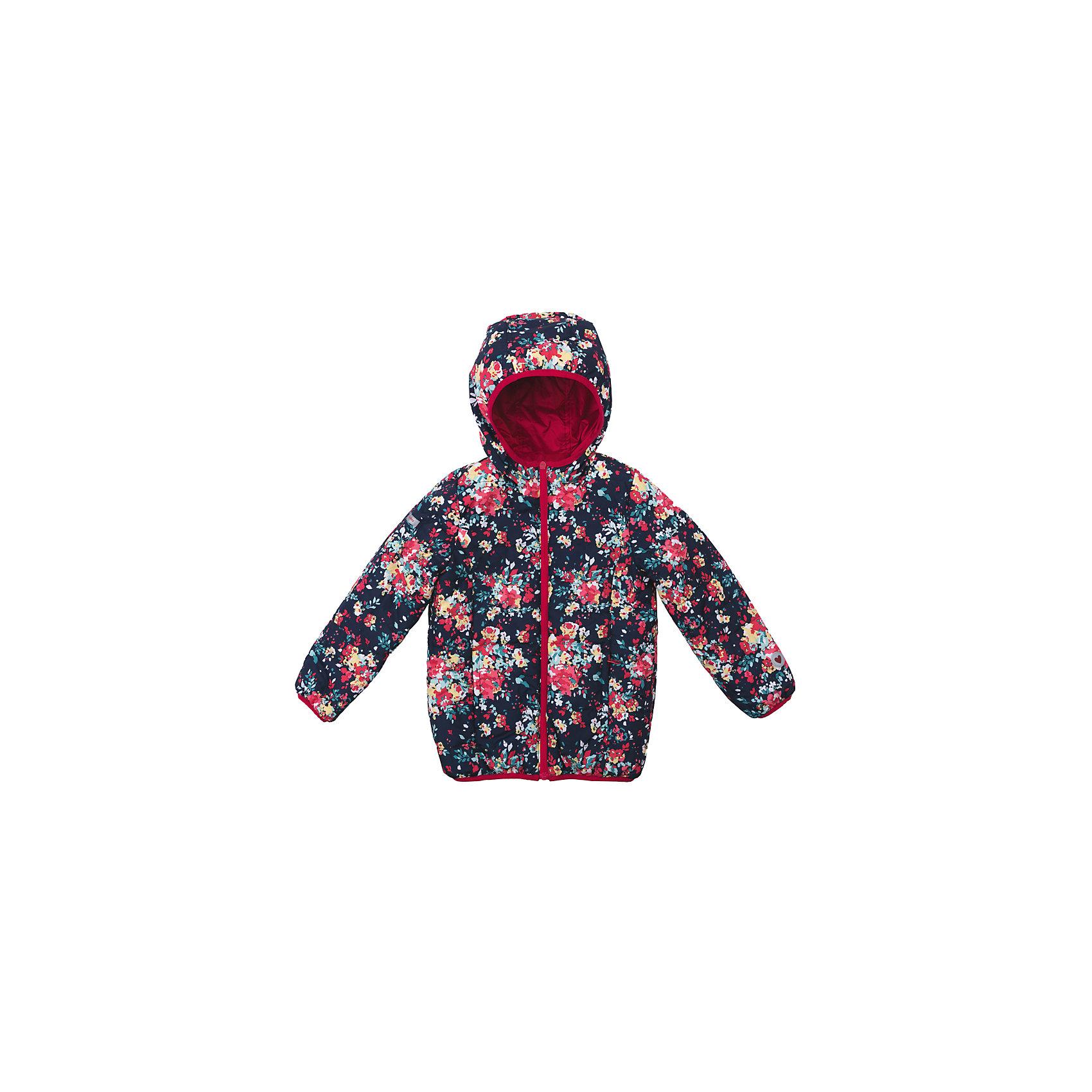 Куртка для девочки PlayTodayДемисезонные куртки<br>Куртка для девочки PlayToday<br>Практичная стильная двусторонняя утепленная куртка с капюшоном  - прекрасное решение для прохладной погоды. Капюшон на мягкой резинке не упадет с головы Вашего ребенка даже в самой активной игре.   Специальный карман для фиксации застежки-молнии не позволит застежке травмировать нежную детскую кожу. Мягкие трикотажные резинки на рукавах защитят от ветра, он не сможет проникнуть под куртку. Светоотражатели по низу изделия и на рукаве обеспечат безопасность и позволят видеть Вашего ребенка в темное время суток.  <br><br>Преимущества: <br><br>Защита подбородка. Специальный карман для фиксации застежки-молнии. Наличие данного кармана не позволит застежке -молнии травмировать нежную кожу ребенка<br>Светоотражатели по низу изделия и на рукаве <br>Мягкие трикотажные резинки на рукавах <br><br>Состав:<br>Верх: 100% полиэстер, Подкладка: 100% полиэстер, Утеплитель: 100% полиэстер, 150 г<br><br>Ширина мм: 356<br>Глубина мм: 10<br>Высота мм: 245<br>Вес г: 519<br>Цвет: разноцветный<br>Возраст от месяцев: 24<br>Возраст до месяцев: 36<br>Пол: Женский<br>Возраст: Детский<br>Размер: 98,128,104,110,116,122<br>SKU: 5403599