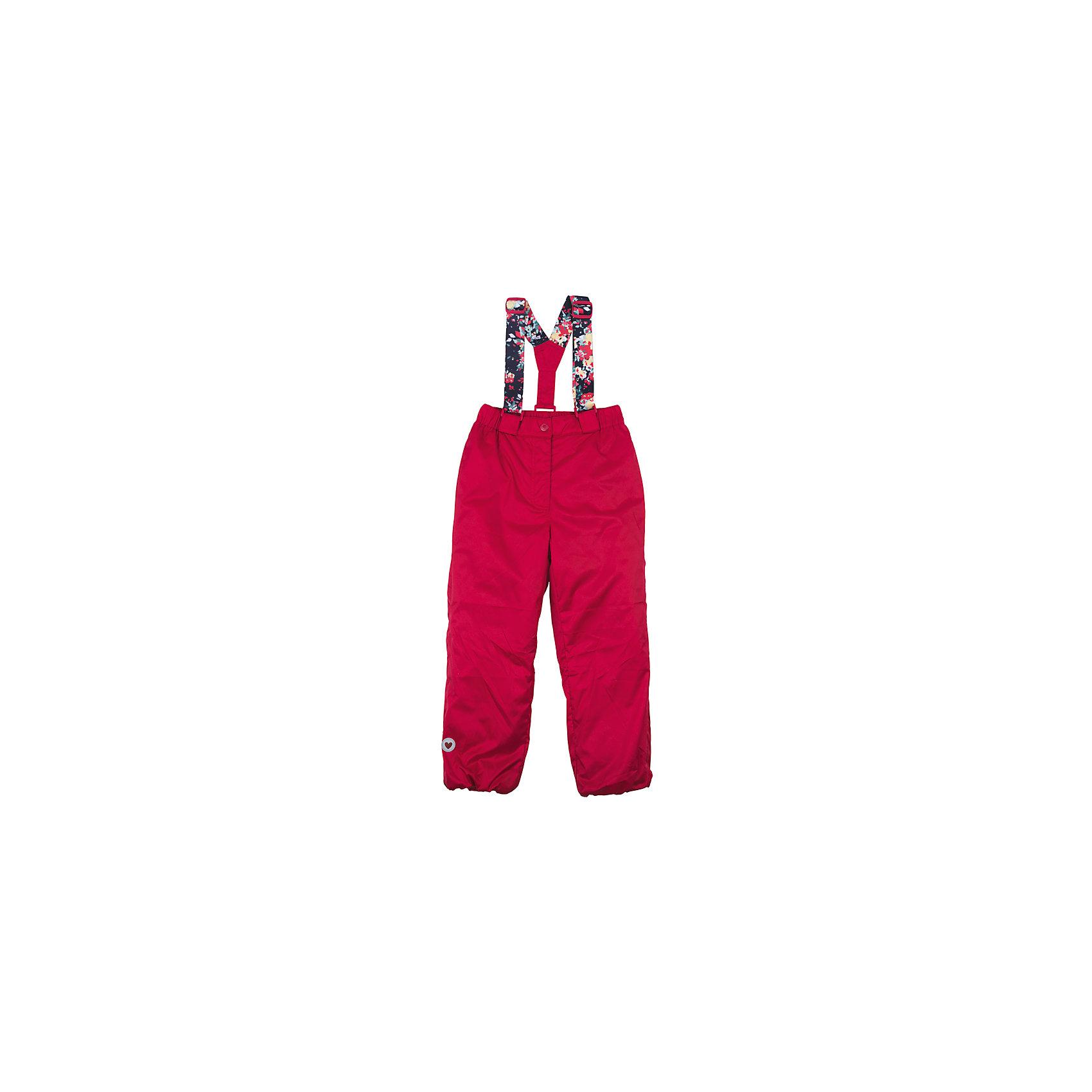 Брюки для девочки PlayTodayВерхняя одежда<br>Характеристики товара:<br><br>• цвет: красный<br>• состав: 100% нейлон, подкладка - 100% полиэстер<br>• утеплитель: 100% полиэстер, 50 г/м2<br>• температурный режим: от +5°С до +15°С<br>• регулируемые лямки<br>• водоотталкивающая пропитка <br>• светоотражающие элементы<br>• комфортная посадка<br>• коллекция: весна-лето 2017<br>• страна бренда: Германия<br>• страна производства: Китай<br><br>Популярный бренд PlayToday выпустил новую коллекцию! Вещи из неё продолжают радовать покупателей удобством, стильным дизайном и продуманным кроем. Дети носят их с удовольствием. PlayToday - это линейка товаров, созданная специально для детей. Дизайнеры учитывают новые веяния моды и потребности детей. Порадуйте ребенка обновкой от проверенного производителя!<br>Такие демисезонные стильные брюки обеспечат ребенку комфорт благодаря качественному материалу и продуманному крою. С помощью этой модели можно удобно одеться по погоде. Очень модная модель! Отлично подходит для переменной погоды межсезонья.<br><br>Брюки для девочки от известного бренда PlayToday можно купить в нашем интернет-магазине.<br><br>Ширина мм: 215<br>Глубина мм: 88<br>Высота мм: 191<br>Вес г: 336<br>Цвет: красный<br>Возраст от месяцев: 24<br>Возраст до месяцев: 36<br>Пол: Женский<br>Возраст: Детский<br>Размер: 98,128,104,110,116,122<br>SKU: 5403606