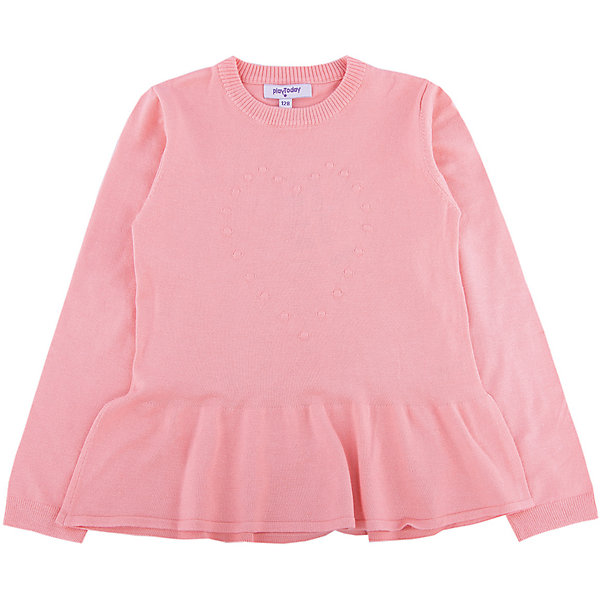 Джемпер для девочки PlayTodayСвитера и кардиганы<br>Характеристики товара:<br><br>• цвет: розовый<br>• состав: 80% вискоза, 20% нейлон<br>• объемное украшение на груди<br>• декорирован юбочкой<br>• эластичные манжеты<br>• резинка по горловине<br>• комфортная посадка<br>• коллекция: весна-лето 2017<br>• страна бренда: Германия<br>• страна производства: Китай<br><br>Популярный бренд PlayToday выпустил новую коллекцию! Вещи из неё продолжают радовать покупателей удобством, стильным дизайном и продуманным кроем. Дети носят их с удовольствием. PlayToday - это линейка товаров, созданная специально для детей. Дизайнеры учитывают новые веяния моды и потребности детей. Порадуйте ребенка обновкой от проверенного производителя!<br>Такая стильная модель обеспечит ребенку комфорт благодаря качественному материалу и продуманному крою. С помощью неё можно удобно одеться по погоде. Очень модная вещь! Отлично подходит для переменной погоды межсезонья.<br><br>Джемпер для девочки от известного бренда PlayToday можно купить в нашем интернет-магазине.<br>Ширина мм: 190; Глубина мм: 74; Высота мм: 229; Вес г: 236; Цвет: розовый; Возраст от месяцев: 84; Возраст до месяцев: 96; Пол: Женский; Возраст: Детский; Размер: 128,98,104,110,116,122; SKU: 5403641;