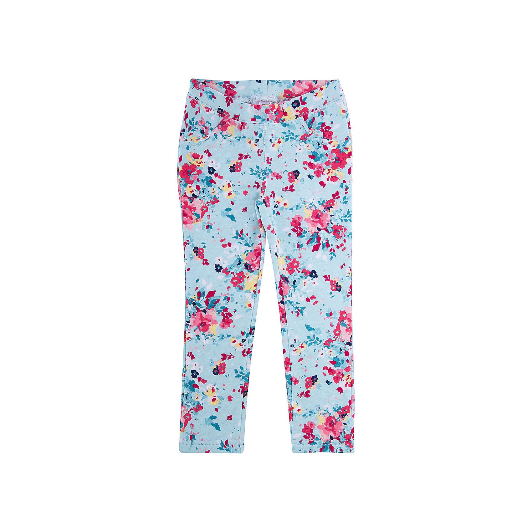 Брюки для девочки PlayTodayЛеггинсы<br>Брюки для девочки PlayToday<br>Стильные брюки из мягкой цветной ткани будут прекрасным дополнением детского гардероба. Мягкая ткань не сковывает движений ребенка. Пояс на резинке, что не позволяет брюкам сползать. Яркий цветочный принт ткани актуален этой весной.  <br><br>Преимущества: <br><br>Мягкая ткань не сковывает движений ребенка<br>Пояс на резинке, который не позволяет брюкам сползать<br>Яркий цветочный принт<br><br>Состав:<br>95% хлопок, 5% эластан<br><br>Ширина мм: 215<br>Глубина мм: 88<br>Высота мм: 191<br>Вес г: 336<br>Цвет: разноцветный<br>Возраст от месяцев: 36<br>Возраст до месяцев: 48<br>Пол: Женский<br>Возраст: Детский<br>Размер: 110,116,122,128,98,104<br>SKU: 5403676