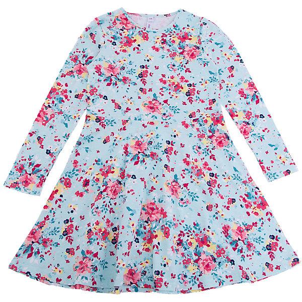 Платье для девочки PlayTodayПлатья и сарафаны<br>Характеристики товара:<br><br>• цвет: разноцветный<br>• состав: 95% хлопок, 5% эластан<br>• длинные рукава<br>• дышащий материал<br>• декорировано принтом<br>• свободный крой<br>• комфортная посадка<br>• коллекция: весна-лето 2017<br>• страна бренда: Германия<br>• страна производства: Китай<br><br>Популярный бренд PlayToday выпустил новую коллекцию! Вещи из неё продолжают радовать покупателей удобством, стильным дизайном и продуманным кроем. Дети носят их с удовольствием. PlayToday - это линейка товаров, созданная специально для детей. Дизайнеры учитывают новые веяния моды и потребности детей. Порадуйте ребенка обновкой от проверенного производителя!<br>Такая стильная модель обеспечит ребенку комфорт благодаря качественному материалу и продуманному крою. С помощью неё можно удобно одеться по погоде. Очень модная вещь! Выглядит нарядно и аккуратно.<br><br>Платье для девочки от известного бренда PlayToday можно купить в нашем интернет-магазине.<br><br>Ширина мм: 236<br>Глубина мм: 16<br>Высота мм: 184<br>Вес г: 177<br>Цвет: белый<br>Возраст от месяцев: 24<br>Возраст до месяцев: 36<br>Пол: Женский<br>Возраст: Детский<br>Размер: 98,128,122,116,110,104<br>SKU: 5403718