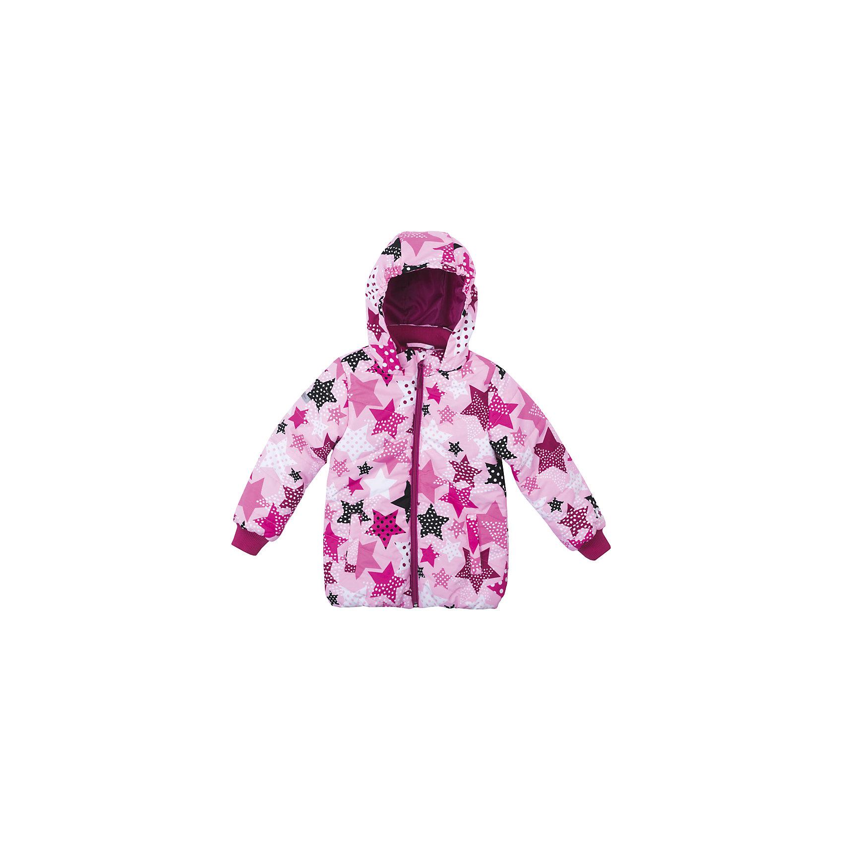 Куртка для девочки PlayTodayДемисезонные куртки<br>Куртка для девочки PlayToday<br>Яркая стильная стеганая утепленная куртка со специальной водоотталкивающей пропиткой защитит Вашего ребенка в любую погоду!  Мягкие трикотажные резинки на рукавах защитят Вашего ребенка - ветер не сможет проникнуть под куртку.  Специальный карман для фиксации застежки-молнии не позволит застежке травмировать нежную детскую кожу. За счет мягких резинок, капюшон не упадет с головы даже во время активных игр. Светоотражатели на рукаве и по низу изделия позволят видеть Вашего ребенка даже в темное время суток. <br><br>Преимущества: <br><br>Защита подбородка. Специальный карман для фиксации застежки-молнии. Наличие данного кармана не позволит застежке -молнии травмировать нежную кожу ребенка<br>Водоооталкивающая пропитка <br>Мягкие трикотажные резинки на рукавах <br><br>Состав:<br>Верх: 100% полиэстер, Подкладка: 100% полиэстер, Наполнитель: 100% полиэстер, 150 г/м2<br><br>Ширина мм: 356<br>Глубина мм: 10<br>Высота мм: 245<br>Вес г: 519<br>Цвет: разноцветный<br>Возраст от месяцев: 60<br>Возраст до месяцев: 72<br>Пол: Женский<br>Возраст: Детский<br>Размер: 116,122,128,98,104,110<br>SKU: 5403788