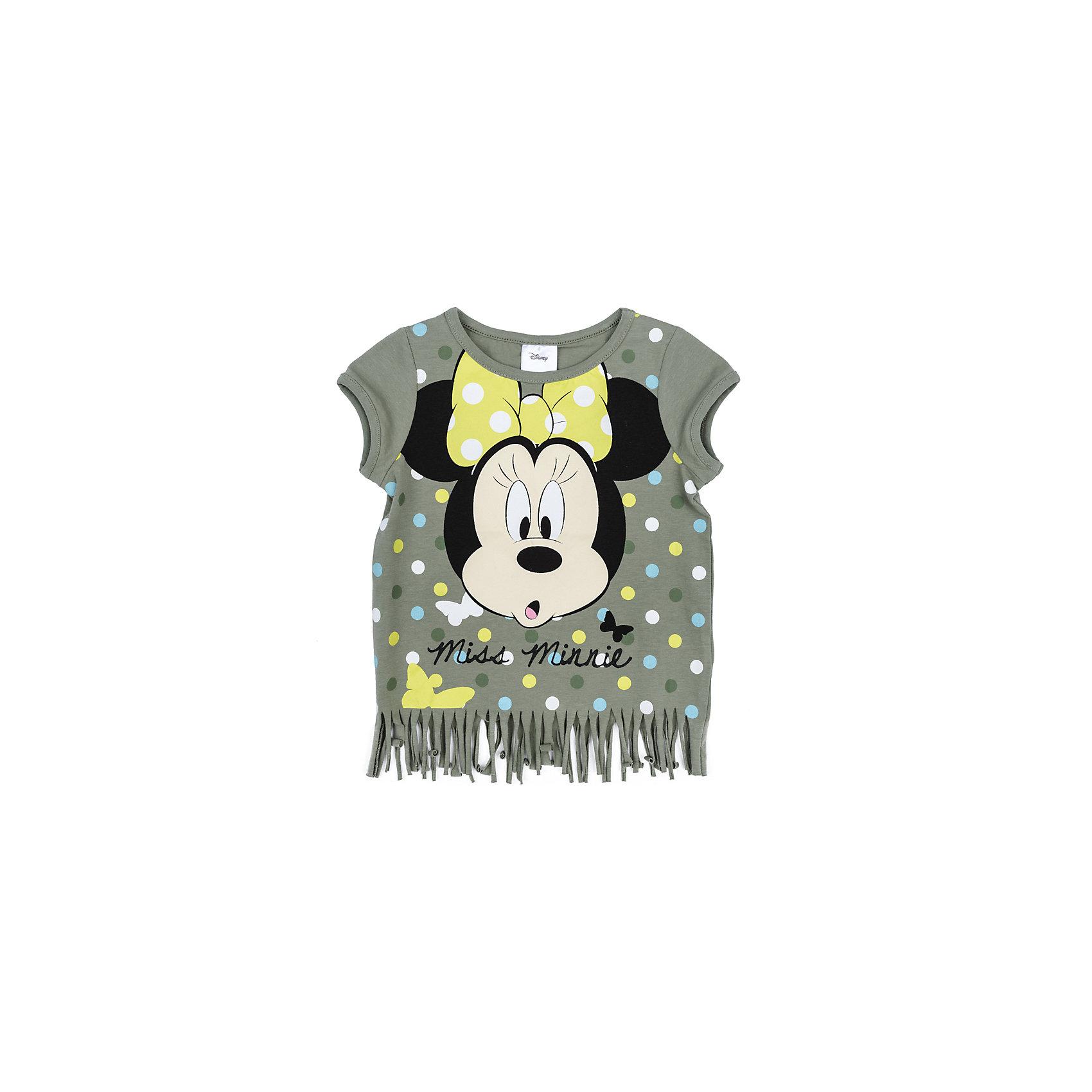 Футболка для девочки PlayTodayФутболка для девочки PlayToday<br>Футболка свободного классического кроя прекрасно подойдет как для домашнего использования, так и для прогулок на свежем воздухе. Можно использовать в качестве базовой вещи повседневного гардероба Вашего ребенка. Яркий стильный лицензированный принт Disney и оригинальная бахрома по низу футболки являются достойным украшением данного изделия.   <br><br>Преимущества: <br><br>Свободный классический крой не сковывает движения ребенка<br>Подходит в качестве азовой вещи для повседневного гардероба<br>Яркий стильный лицензированный принт Disney<br><br>Состав:<br>95% хлопок, 5% эластан<br><br>Ширина мм: 199<br>Глубина мм: 10<br>Высота мм: 161<br>Вес г: 151<br>Цвет: разноцветный<br>Возраст от месяцев: 84<br>Возраст до месяцев: 96<br>Пол: Женский<br>Возраст: Детский<br>Размер: 128,98,104,110,116,122<br>SKU: 5403949