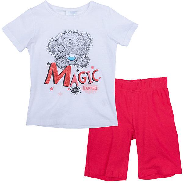 Комплект для девочки PlayTodayКомплекты<br>Характеристики товара:<br><br>• цвет: разноцветный<br>• состав: 95% хлопок, 5% эластан<br>• комплектация: футболка, шорты<br>• дышащий материал<br>• принт<br>• короткие рукава<br>• пояс шорт - мягкая резинка<br>• комфортная посадка<br>• коллекция: весна-лето 2017<br>• страна бренда: Германия<br>• страна производства: Китай<br><br>Популярный бренд PlayToday выпустил новую коллекцию! Вещи из неё продолжают радовать покупателей удобством, стильным дизайном и продуманным кроем. Дети носят их с удовольствием. PlayToday - это линейка товаров, созданная специально для детей. Дизайнеры учитывают новые веяния моды и потребности детей. Порадуйте ребенка обновкой от проверенного производителя!<br>Эта модель обеспечит ребенку комфорт благодаря качественному материалу и удобному крою. Отличный вариант детской одежды - она не трет и давит, не ограничивает свободу движений! Выглядит стильно и аккуратно.<br><br>Комплект для девочки от известного бренда PlayToday можно купить в нашем интернет-магазине.<br><br>Ширина мм: 199<br>Глубина мм: 10<br>Высота мм: 161<br>Вес г: 151<br>Цвет: белый<br>Возраст от месяцев: 24<br>Возраст до месяцев: 36<br>Пол: Женский<br>Возраст: Детский<br>Размер: 98,128,122,116,110,104<br>SKU: 5404023