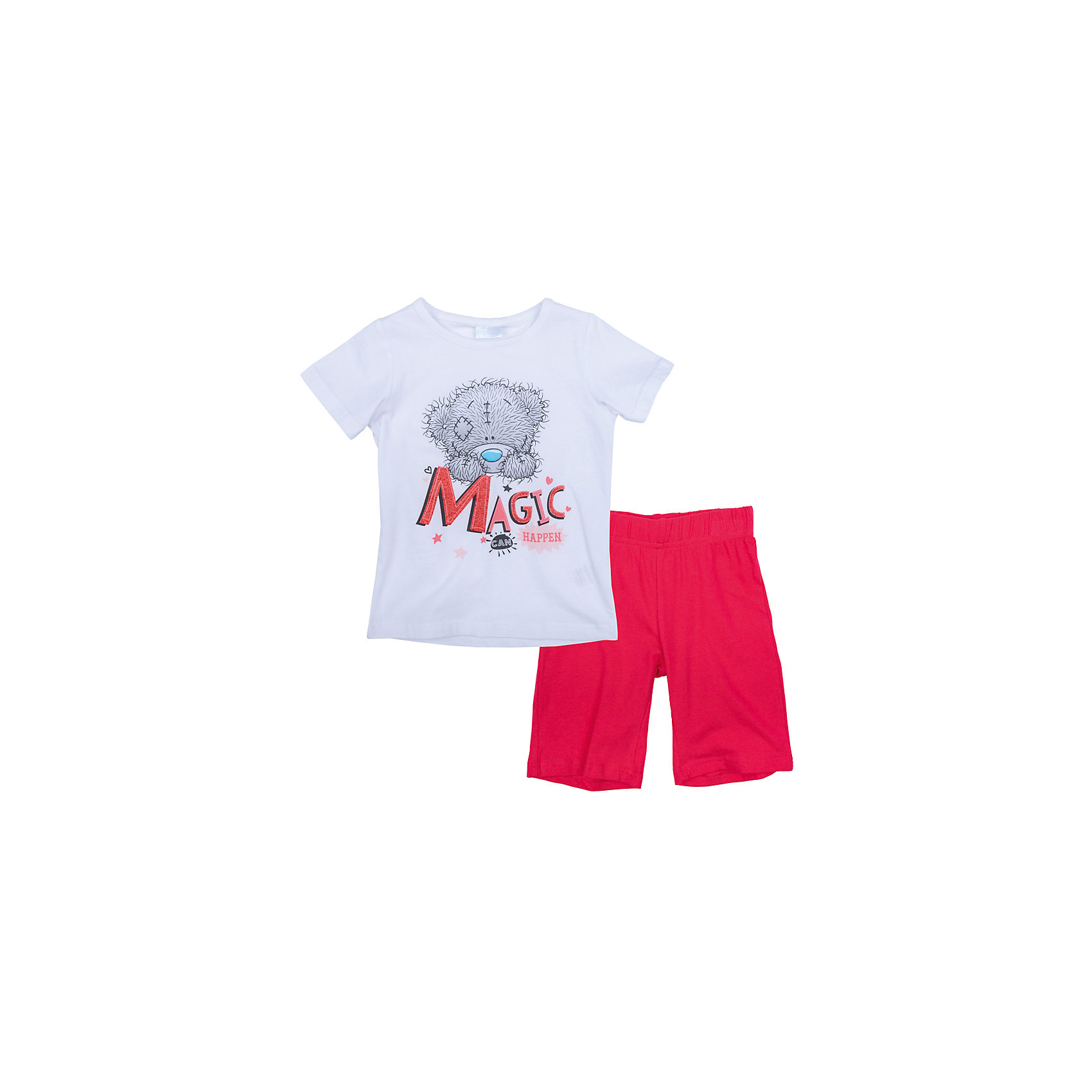 Комплект для девочки PlayTodayКомплект для девочки PlayToday<br>Комплект из майки и шорт прекрасно подойдет для домашнего использования. Может быть и домашней одеждой, и уютной пижамой. Мягкий, приятный к телу, материал не сковывает движений. Яркий стильный принт Disney  является достойным украшением данного изделия.Преимущества: Свободный классический крой не сковывает движения ребенкаМожет быть удобной домашней одеждой и уютной пижамой.Яркий стильный принт<br>Состав:<br>95% хлопок, 5% эластан<br><br>Ширина мм: 199<br>Глубина мм: 10<br>Высота мм: 161<br>Вес г: 151<br>Цвет: разноцветный<br>Возраст от месяцев: 84<br>Возраст до месяцев: 96<br>Пол: Женский<br>Возраст: Детский<br>Размер: 128,98,104,110,116,122<br>SKU: 5404023