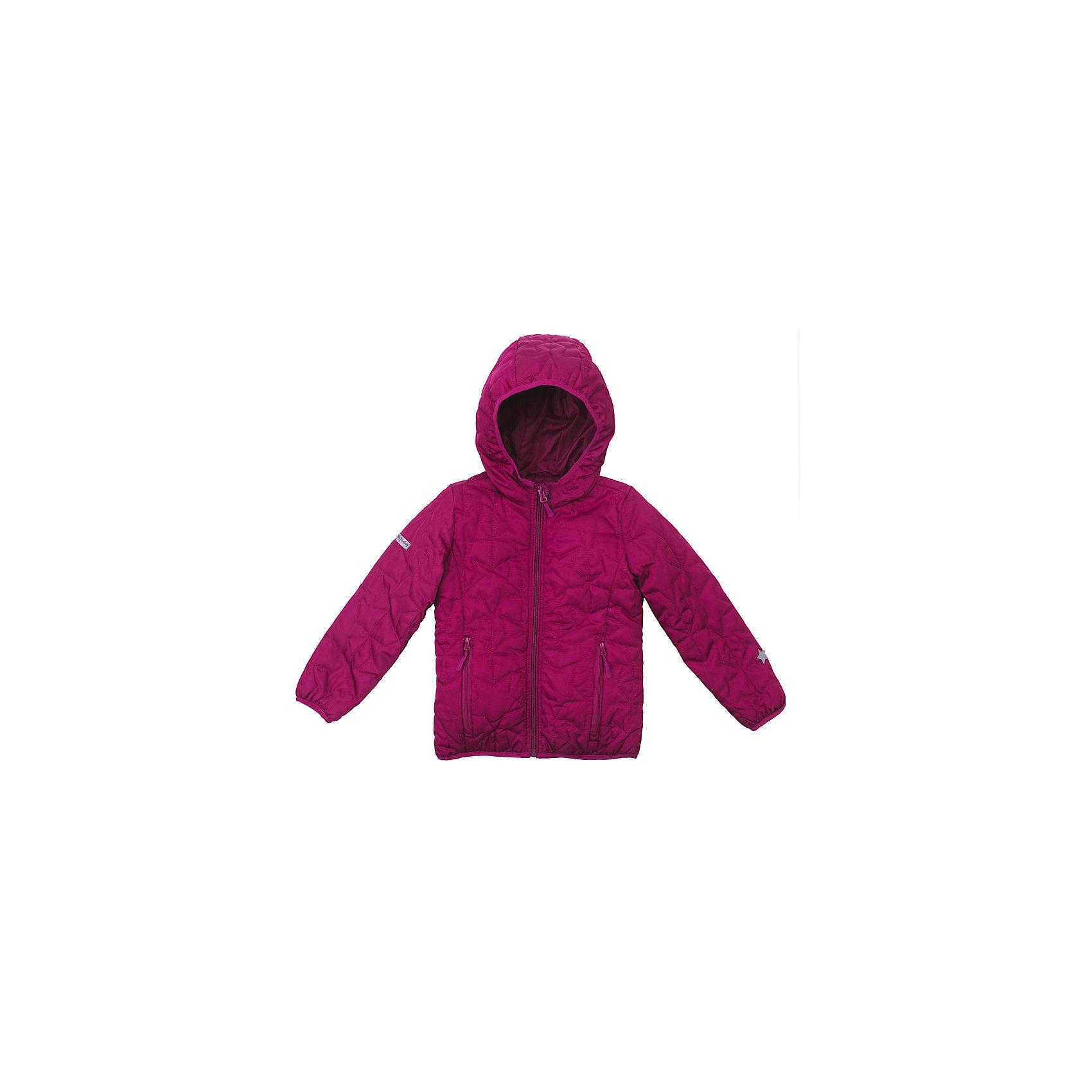 Куртка для девочки PlayTodayВерхняя одежда<br>Куртка для девочки PlayToday<br>Яркая стильная стеганая утепленная куртка со специальной водоотталкивающей пропиткой защитит Вашего ребенка в любую погоду!  Специальный карман для фиксации застежки-молнии не позволит застежке травмировать нежную детскую кожу. За счет мягких резинок, капюшон не упадет с головы даже во время активных игр. Светоотражатели на рукаве и по низу изделия, позволят видеть Вашего ребенка даже в темное время суток. <br><br>Преимущества: <br><br>Защита подбородка. Специальный карман для фиксации застежки-молнии. Наличие данного кармана не позволит застежке -молнии травмировать нежную кожу ребенка<br>Водоооталкивающая пропитка <br>Светоотражатели на рукаве и по низу изделия<br><br>Состав:<br>Верх: 100% полиэстер, Подкладка: 100% полиэстер, Наполнитель: 100% полиэстер, 150 г/м2<br><br>Ширина мм: 356<br>Глубина мм: 10<br>Высота мм: 245<br>Вес г: 519<br>Цвет: розовый<br>Возраст от месяцев: 84<br>Возраст до месяцев: 96<br>Пол: Женский<br>Возраст: Детский<br>Размер: 128,98,104,110,116,122<br>SKU: 5404048