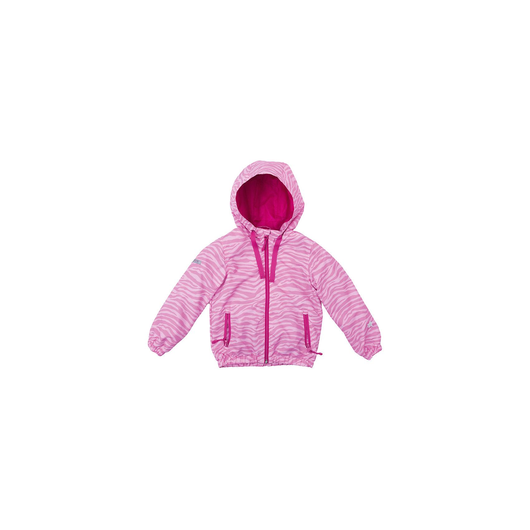 Куртка для девочки PlayTodayВерхняя одежда<br>Куртка для девочки PlayToday<br>Яркая стильная куртка обязательно понравится Вашему ребенку! Специальный карман для фиксации застежки-молнии не позволит застежке травмировать нежную детскую кожу. За счет шнура - кулиски капюшон не упадет с головы даже во время активных игр. Светоотражатели на рукаве и по низу изделия позволят видеть Вашего ребенка даже в темное время суток. <br><br>Преимущества: <br><br>Защита подбородка. Специальный карман для фиксации застежки-молнии. Наличие данного кармана не позволит застежке -молнии травмировать нежную кожу ребенка<br>Капюшон на шнуре - кулиске<br>Светоотражатели на рукаве и по низу изделия<br><br>Состав:<br>Верх: 100% полиэстер, подкладка: 100% полиэстер<br><br>Ширина мм: 356<br>Глубина мм: 10<br>Высота мм: 245<br>Вес г: 519<br>Цвет: розовый<br>Возраст от месяцев: 84<br>Возраст до месяцев: 96<br>Пол: Женский<br>Возраст: Детский<br>Размер: 128,98,104,110,116,122<br>SKU: 5404062