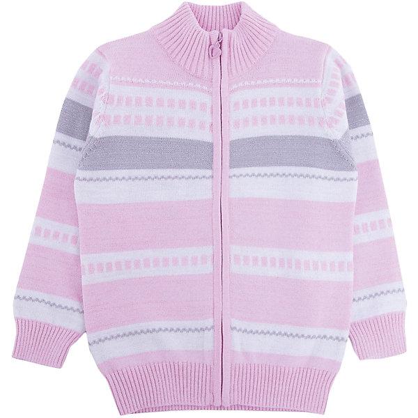 Кардиган для девочки PlayTodayСвитера и кардиганы<br>Характеристики товара:<br><br>• цвет: разноцветный<br>• состав: 60% хлопок, 35% акрил, 5% полиэстер<br>• изготовлен методом yarn dyed, долго выглядит как новый<br>• декорирован вязаным узором<br>• молния<br>• эластичные манжеты<br>• резинка по низу<br>• комфортная посадка<br>• коллекция: весна-лето 2017<br>• страна бренда: Германия<br>• страна производства: Китай<br><br>Популярный бренд PlayToday выпустил новую коллекцию! Вещи из неё продолжают радовать покупателей удобством, стильным дизайном и продуманным кроем. Дети носят их с удовольствием. PlayToday - это линейка товаров, созданная специально для детей. Дизайнеры учитывают новые веяния моды и потребности детей. Порадуйте ребенка обновкой от проверенного производителя!<br>Такая стильная модель обеспечит ребенку комфорт благодаря качественному материалу и продуманному крою. С помощью неё можно удобно одеться по погоде. Очень модная вещь! Отлично подходит для переменной погоды межсезонья.<br><br>Кардиган для девочки от известного бренда PlayToday можно купить в нашем интернет-магазине.<br><br>Ширина мм: 190<br>Глубина мм: 74<br>Высота мм: 229<br>Вес г: 236<br>Цвет: белый<br>Возраст от месяцев: 24<br>Возраст до месяцев: 36<br>Пол: Женский<br>Возраст: Детский<br>Размер: 98,128,104,110,116,122<br>SKU: 5404069