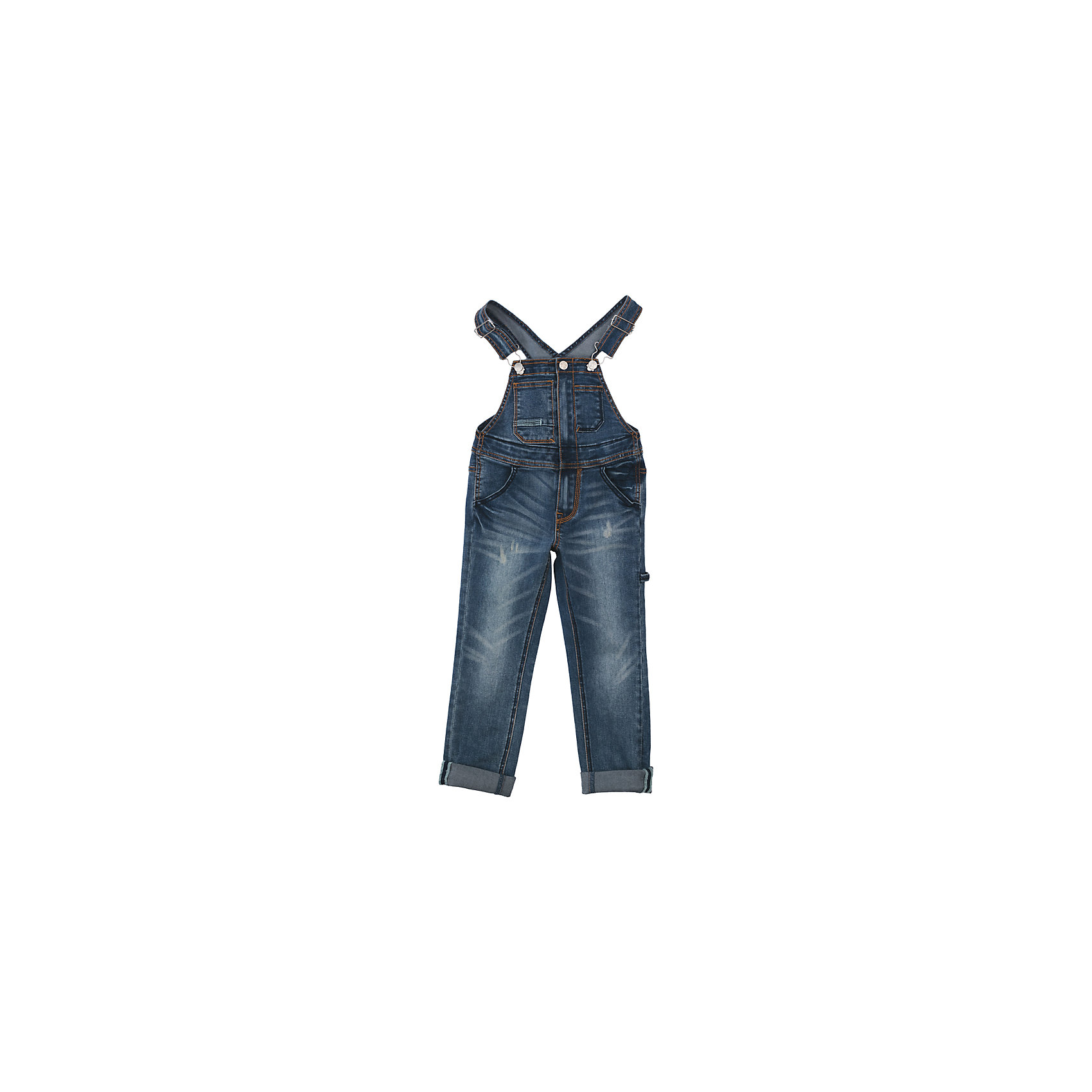 Комбинезон джинсовый для девочки PlayTodayКомбинезоны<br>Полукомбинезон из джинсовой ткани будет незаменимым в любом гардеробе. Хорошо сочетается с футболками и водолазками.  Пуговицы - болты являются удачным стильным и практичным дополнением. Мягкая ткань приятна к телу. Не сковывает движения ребенка. Модель с высокой грудкой и широкими бретелями. <br><br>Преимущества: <br><br>Мягкая ткань не сковывает движения ребенка<br>Модель с высокой грудкой и широкими бретелями<br><br>Состав:<br>72% хлопок, 23% полиэстер, 3% вискоза, 2% эластан<br><br>Ширина мм: 215<br>Глубина мм: 88<br>Высота мм: 191<br>Вес г: 336<br>Цвет: синий<br>Возраст от месяцев: 84<br>Возраст до месяцев: 96<br>Пол: Женский<br>Возраст: Детский<br>Размер: 128,98,104,110,116,122<br>SKU: 5404104
