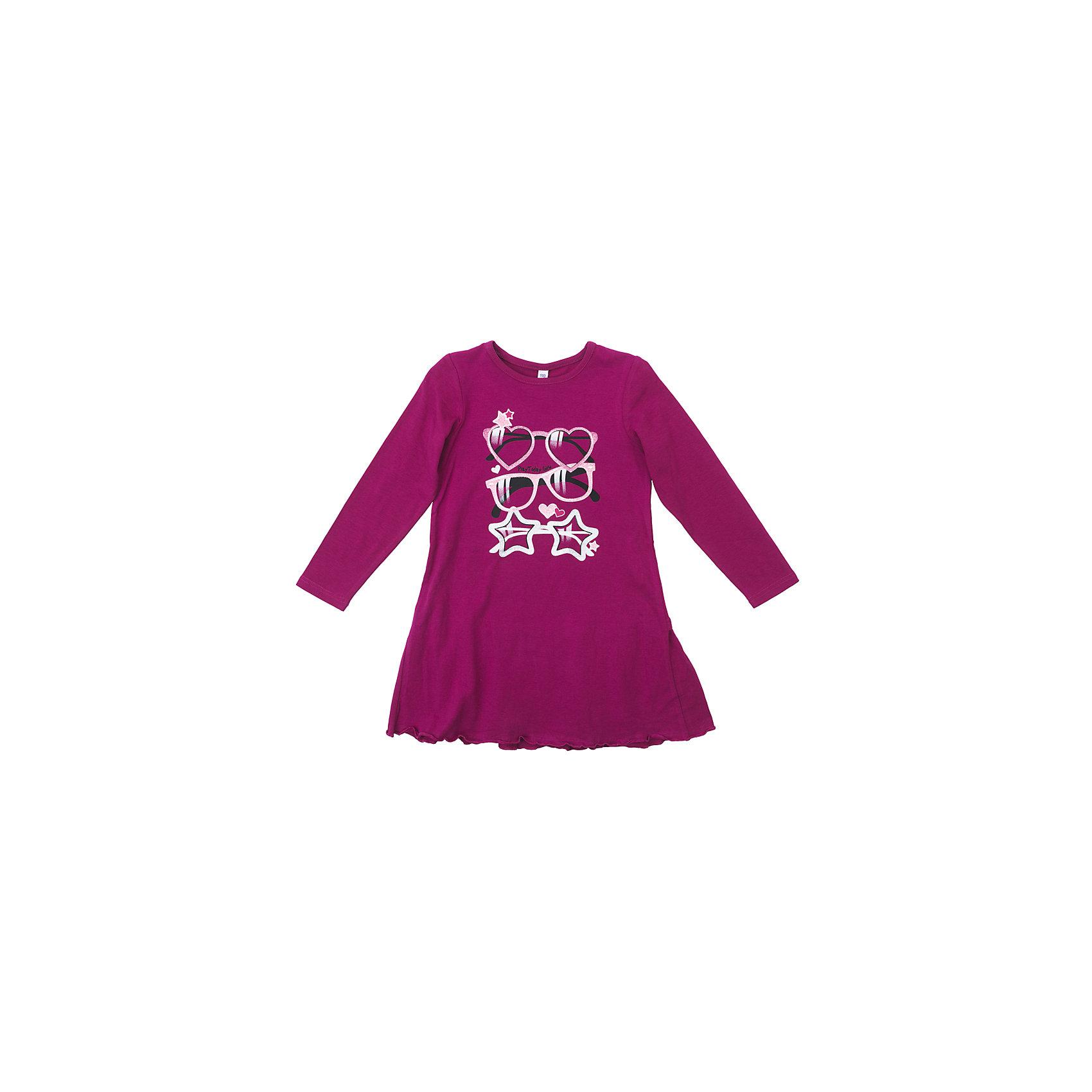 Платье для девочки PlayTodayПлатья и сарафаны<br>Характеристики товара:<br><br>• цвет: розовый<br>• состав: 95% хлопок, 5% эластан<br>• декорирована принтом<br>• эластичный трикотаж<br>• дышащий материал<br>• с длинным рукавом<br>• мягкая обработка краев<br>• комфортная посадка<br>• коллекция: весна-лето 2017<br>• страна бренда: Германия<br>• страна производства: Китай<br><br>Популярный бренд PlayToday выпустил новую коллекцию! Вещи из неё продолжают радовать покупателей удобством, стильным дизайном и продуманным кроем. Дети носят их с удовольствием. PlayToday - это линейка товаров, созданная специально для детей. Дизайнеры учитывают новые веяния моды и потребности детей. Порадуйте ребенка обновкой от проверенного производителя!<br>Такая стильная модель обеспечит ребенку комфорт благодаря качественному материалу и продуманному крою. С помощью неё можно удобно одеться по погоде. Очень модная вещь! Симпатично выглядит и долго служит.<br><br>Платье для девочки от известного бренда PlayToday можно купить в нашем интернет-магазине.<br><br>Ширина мм: 236<br>Глубина мм: 16<br>Высота мм: 184<br>Вес г: 177<br>Цвет: розовый<br>Возраст от месяцев: 84<br>Возраст до месяцев: 96<br>Пол: Женский<br>Возраст: Детский<br>Размер: 128,98,104,110,116,122<br>SKU: 5404160