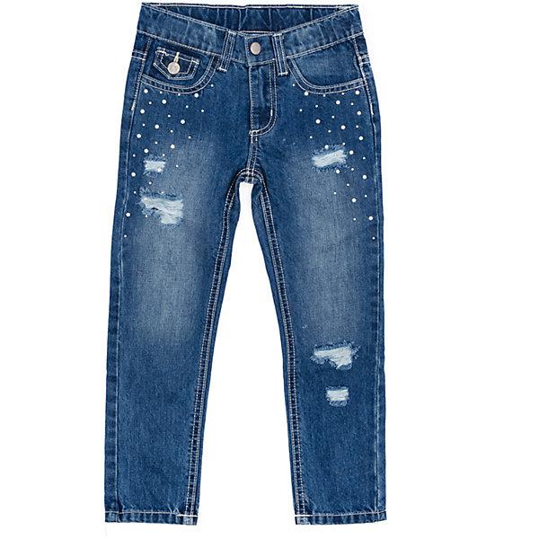 Джинсы для девочки PlayTodayДжинсовая одежда<br>Характеристики товара:<br><br>• цвет: синий<br>• состав: 100% хлопок<br>• качественный материал<br>• стразы<br>• карманы <br>• эффект потертостей<br>• комфортная посадка<br>• коллекция: весна-лето 2017<br>• страна бренда: Германия<br>• страна производства: Китай<br><br>Популярный бренд PlayToday выпустил новую коллекцию! Вещи из неё продолжают радовать покупателей удобством, стильным дизайном и продуманным кроем. Дети носят их с удовольствием. PlayToday - это линейка товаров, созданная специально для детей. Дизайнеры учитывают новые веяния моды и потребности детей. Порадуйте ребенка обновкой от проверенного производителя!<br>Эта модель обеспечит ребенку комфорт благодаря качественному материалу и удобному крою. С её помощью можно сделать интересный акцент в образе, дополнить наряд и одеться по погоде. Очень модная вещь! Выглядит стильно и аккуратно.<br><br>Джинсы для девочки от известного бренда Scool можно купить в нашем интернет-магазине.<br><br>Ширина мм: 215<br>Глубина мм: 88<br>Высота мм: 191<br>Вес г: 336<br>Цвет: синий<br>Возраст от месяцев: 24<br>Возраст до месяцев: 36<br>Пол: Женский<br>Возраст: Детский<br>Размер: 98,128,122,116,110,104<br>SKU: 5404251