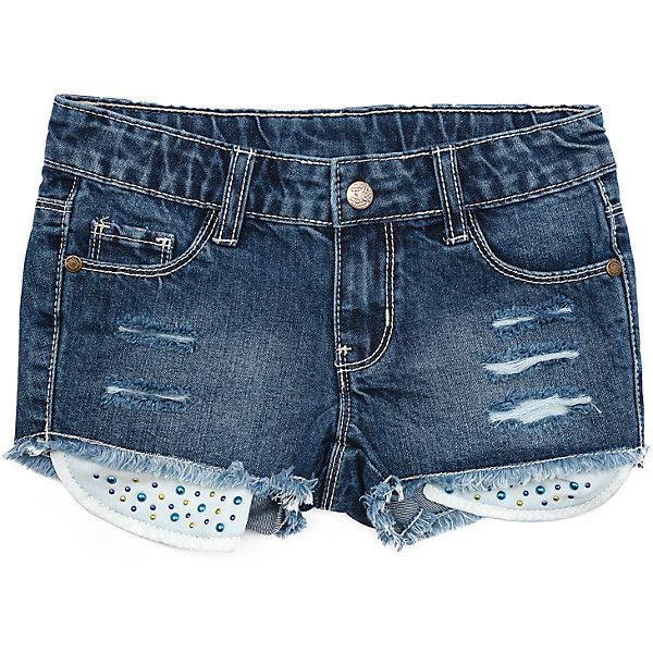 Шорты джинсовые для девочки PlayTodayШорты, бриджи, капри<br>Характеристики товара:<br><br>• цвет: синий<br>• состав: 100% хлопок<br>• качественный материал<br>• стразы<br>• карманы <br>• эффект потертостей<br>• комфортная посадка<br>• коллекция: весна-лето 2017<br>• страна бренда: Германия<br>• страна производства: Китай<br><br>Популярный бренд PlayToday выпустил новую коллекцию! Вещи из неё продолжают радовать покупателей удобством, стильным дизайном и продуманным кроем. Дети носят их с удовольствием. PlayToday - это линейка товаров, созданная специально для детей. Дизайнеры учитывают новые веяния моды и потребности детей. Порадуйте ребенка обновкой от проверенного производителя!<br>Эта модель обеспечит ребенку комфорт благодаря качественному материалу и удобному крою. С её помощью можно сделать интересный акцент в образе, дополнить наряд и одеться по погоде. Очень модная вещь! Выглядит стильно и аккуратно.<br><br>Шорты для девочки от известного бренда Scool можно купить в нашем интернет-магазине.<br><br>Ширина мм: 191<br>Глубина мм: 10<br>Высота мм: 175<br>Вес г: 273<br>Цвет: синий<br>Возраст от месяцев: 24<br>Возраст до месяцев: 36<br>Пол: Женский<br>Возраст: Детский<br>Размер: 98,128,122,116,110,104<br>SKU: 5404258