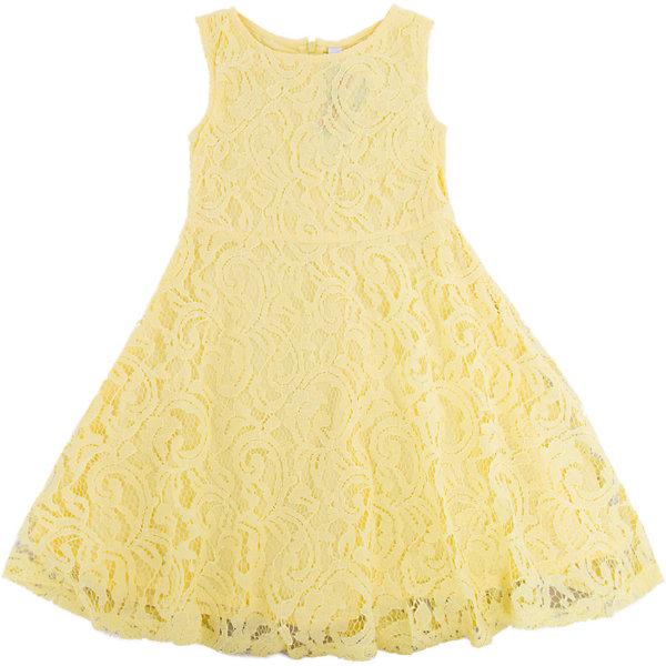 Платье для девочки PlayTodayПлатья и сарафаны<br>Характеристики товара:<br><br>• цвет: желтый<br>• состав: 80% хлопок, 20% полиамид; подкладка: 100% хлопок<br>• молния<br>• дышащий материал<br>• без рукавов<br>• мягкая обработка краев<br>• комфортная посадка<br>• коллекция: весна-лето 2017<br>• страна бренда: Германия<br>• страна производства: Китай<br><br>Популярный бренд PlayToday выпустил новую коллекцию! Вещи из неё продолжают радовать покупателей удобством, стильным дизайном и продуманным кроем. Дети носят их с удовольствием. PlayToday - это линейка товаров, созданная специально для детей. Дизайнеры учитывают новые веяния моды и потребности детей. Порадуйте ребенка обновкой от проверенного производителя!<br>Такая стильная модель обеспечит ребенку комфорт благодаря качественному материалу и продуманному крою. С помощью неё можно удобно одеться по погоде. Очень модная вещь! Симпатично выглядит и долго служит.<br><br>Платье для девочки от известного бренда PlayToday можно купить в нашем интернет-магазине.<br>Ширина мм: 236; Глубина мм: 16; Высота мм: 184; Вес г: 177; Цвет: желтый; Возраст от месяцев: 24; Возраст до месяцев: 36; Пол: Женский; Возраст: Детский; Размер: 98,128,122,116,110,104; SKU: 5404293;