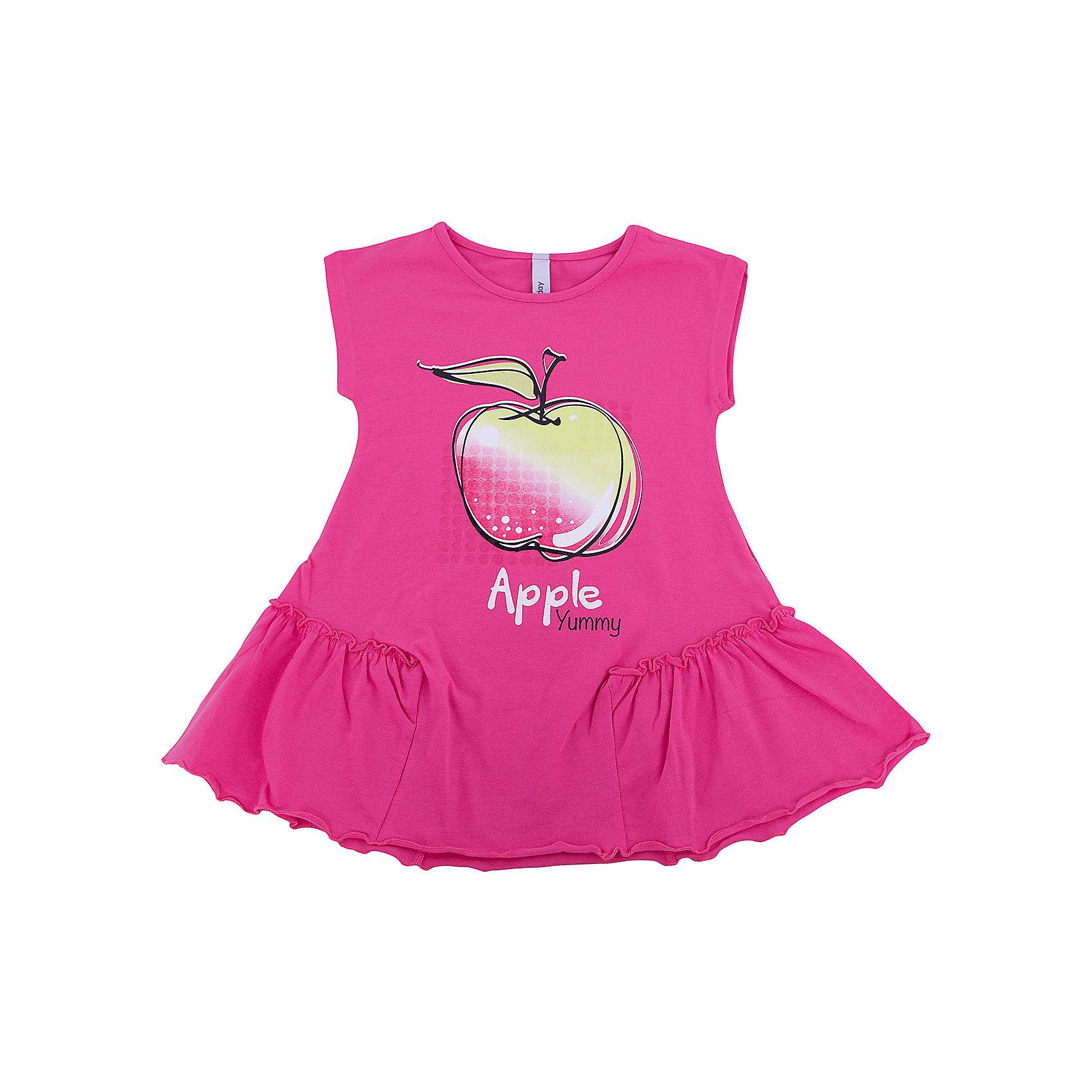 Платье для девочки PlayTodayПлатья и сарафаны<br>Платье для девочки PlayToday<br>Эффектное платье насыщенного цвета из натуральной ткани сможет быть прекрасным дополнением летнего детского гардероба. Модель декорирована ярким принтом. По бокам нестандартные вставки с мягкими оборками.<br>Состав:<br>95% хлопок, 5% эластан<br><br>Ширина мм: 236<br>Глубина мм: 16<br>Высота мм: 184<br>Вес г: 177<br>Цвет: разноцветный<br>Возраст от месяцев: 60<br>Возраст до месяцев: 72<br>Пол: Женский<br>Возраст: Детский<br>Размер: 116,122,128,98,104,110<br>SKU: 5404515
