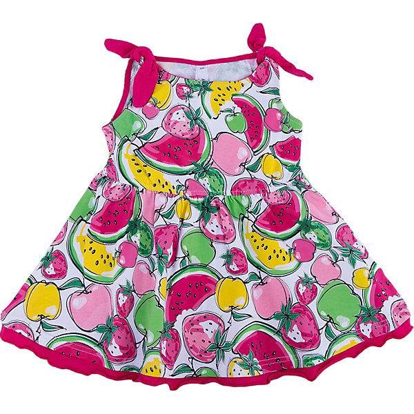 Сарафан для девочки PlayTodayЛетние платья и сарафаны<br>Характеристики товара:<br><br>• цвет: разноцветный<br>• состав: 95% хлопок, 5% эластан<br>• принт<br>• дышащий материал<br>• свободный крой<br>• комфортная посадка<br>• коллекция: весна-лето 2017<br>• страна бренда: Германия<br>• страна производства: Китай<br><br>Популярный бренд PlayToday выпустил новую коллекцию! Вещи из неё продолжают радовать покупателей удобством, стильным дизайном и продуманным кроем. Дети носят их с удовольствием. PlayToday - это линейка товаров, созданная специально для детей. Дизайнеры учитывают новые веяния моды и потребности детей. Порадуйте ребенка обновкой от проверенного производителя!<br>Такая стильная модель обеспечит ребенку комфорт благодаря качественному материалу и продуманному крою. С помощью неё можно удобно одеться по погоде. Очень модная вещь! Выглядит нарядно и аккуратно.<br><br>Сарафан для девочки от известного бренда PlayToday можно купить в нашем интернет-магазине.<br><br>Ширина мм: 236<br>Глубина мм: 16<br>Высота мм: 184<br>Вес г: 177<br>Цвет: белый<br>Возраст от месяцев: 24<br>Возраст до месяцев: 36<br>Пол: Женский<br>Возраст: Детский<br>Размер: 98,128,122,116,110,104<br>SKU: 5404522