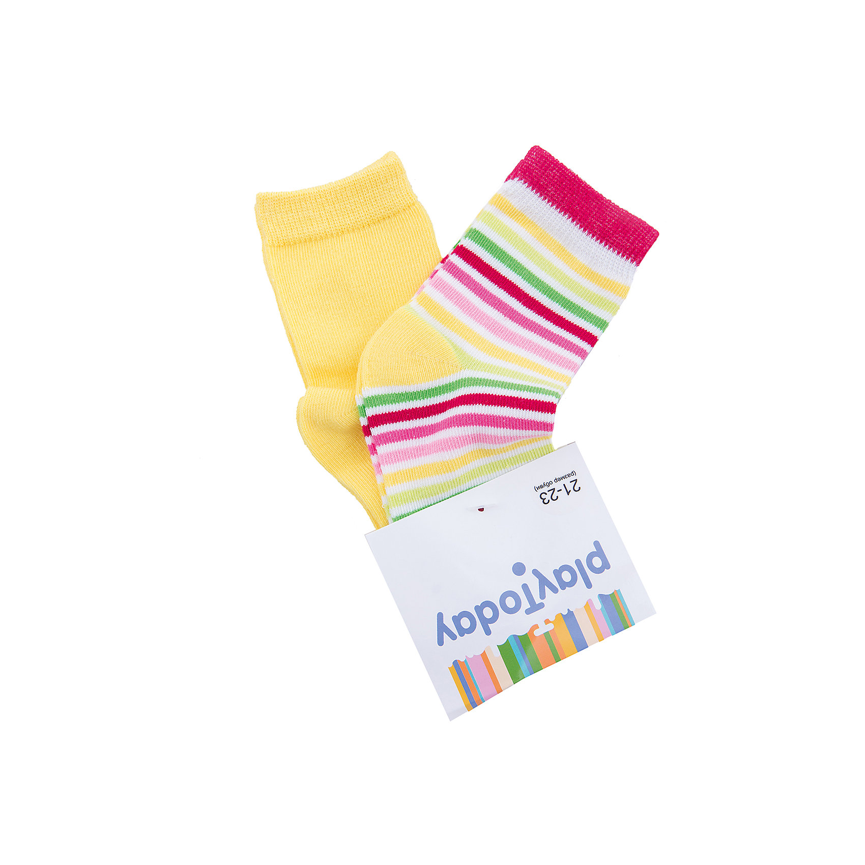 Носки для девочки PlayTodayНоски<br>Носки для девочки PlayToday<br>Носки очень мягкие, из качественных материалов, приятны к телу и не сковывают движений. Хорошо пропускают воздух, тем самым позволяя коже дышать.  Даже частые стирки, при условии соблюдений рекомендаций по уходу, не изменят ни форму, ни цвет изделий.Преимущества: Мягкие, выполненные из натуральных материалов, приятны к телу, не сковывают движенийХорошо пропускают воздух, позволяя тем самым коже дышатьДаже частые стирки, при условии соблюдений рекомендаций по уходу, не изменят ни форму, ни цвет изделия<br>Состав:<br>75% хлопок, 22% нейлон, 3% эластан<br><br>Ширина мм: 87<br>Глубина мм: 10<br>Высота мм: 105<br>Вес г: 115<br>Цвет: разноцветный<br>Возраст от месяцев: 18<br>Возраст до месяцев: 24<br>Пол: Женский<br>Возраст: Детский<br>Размер: 14,18,16<br>SKU: 5404541
