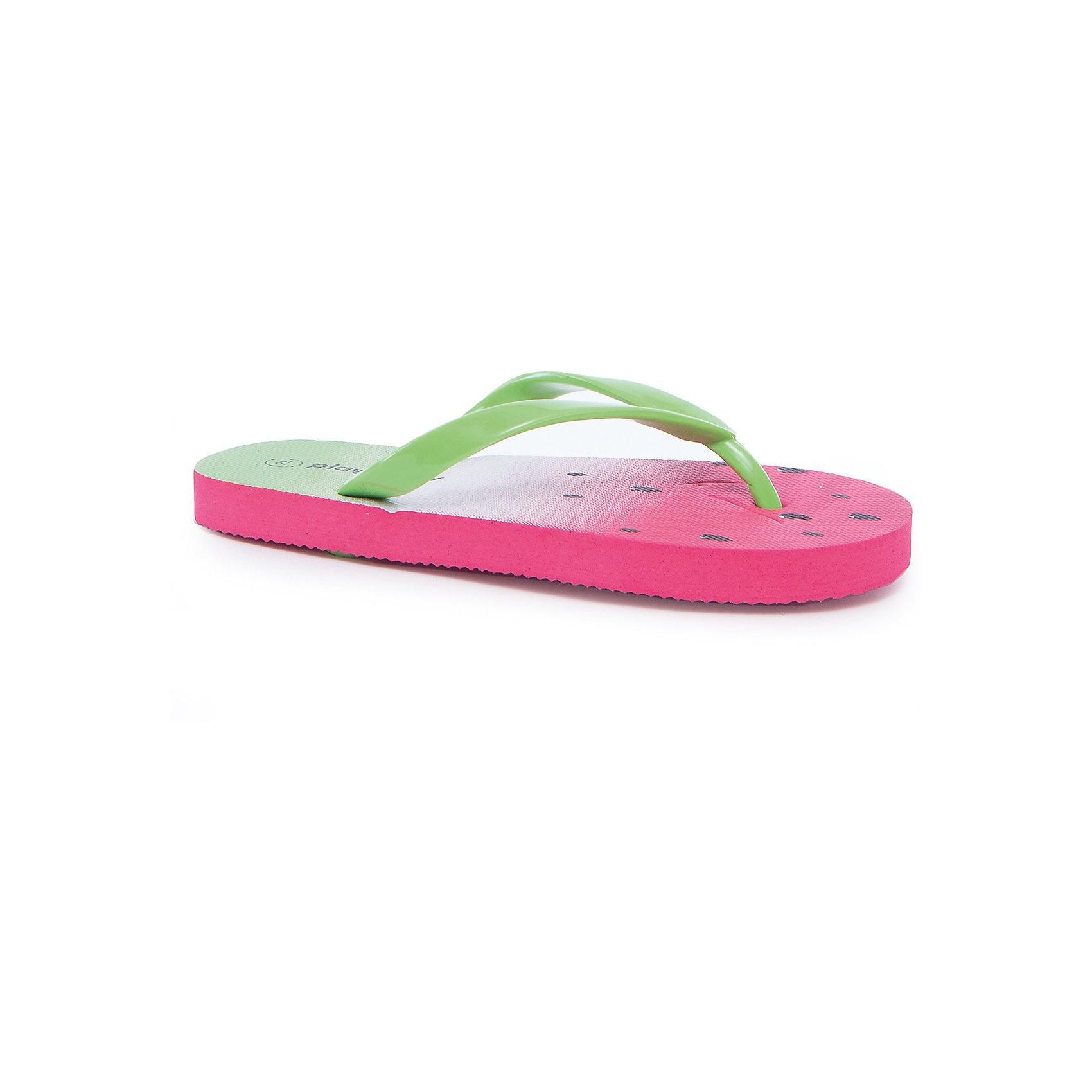 Шлепанцы для девочки PlayTodayПляжная обувь<br>Пантолеты для девочки PlayToday<br>Модель выполнена из мягкого водонепроницаемого материала. Контрасный сочный рисунок подошвы выгодно отличает данное изделие.<br>Состав:<br>100% поливинилхлорид<br><br>Ширина мм: 225<br>Глубина мм: 139<br>Высота мм: 112<br>Вес г: 290<br>Цвет: разноцветный<br>Возраст от месяцев: 120<br>Возраст до месяцев: 132<br>Пол: Женский<br>Возраст: Детский<br>Размер: 34,33,28,29,30,31,32<br>SKU: 5404580