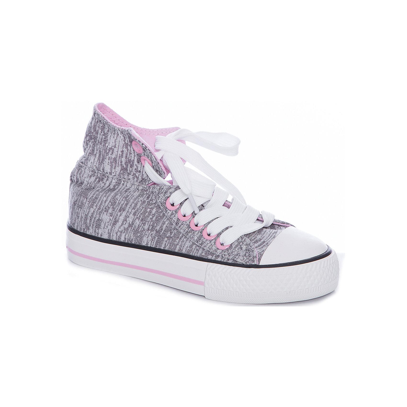 Кеды для девочки PlayTodayКеды<br>Кеды для девочки PlayToday<br>Стильные и комфортные ботинки - превосходно подходят для ежедневных прогулок. Ботинки выполнены из хлопковой ткани, которая легко поддается чистке. Легкая подошва с рифлением обеспечивает оптимальный комфорт.<br><br>Преимущества: <br><br>Подошва из гибкого, нескользящего материала<br>Рифление подошвы обеспечивает хорошее сцепление с поверхностью<br><br>Состав:<br>Верх:95%хлопок 5%полиэстер;Подкладка:100%хлопок;Подошва:100%резина<br><br>Ширина мм: 262<br>Глубина мм: 176<br>Высота мм: 97<br>Вес г: 427<br>Цвет: разноцветный<br>Возраст от месяцев: 48<br>Возраст до месяцев: 60<br>Пол: Женский<br>Возраст: Детский<br>Размер: 28,34,29,30,31,32,33<br>SKU: 5404611