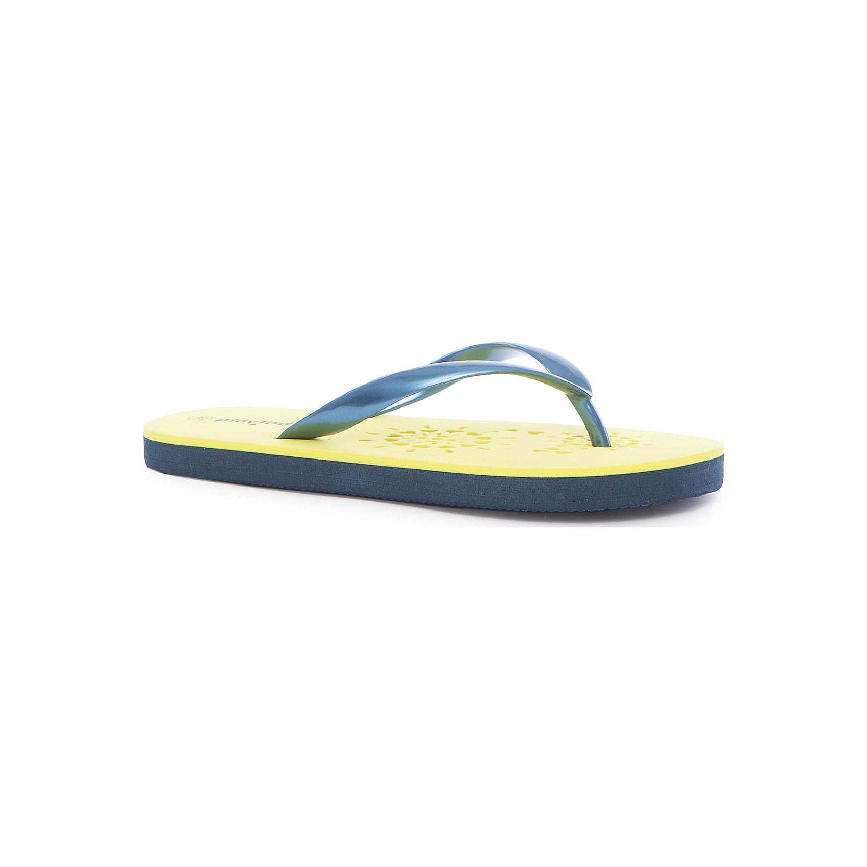 Шлепанцы для девочки PlayTodayПляжная обувь<br>Характеристики товара:<br><br>• цвет: разноцветный<br>• состав: этилвинилацетат<br>• стильный дизайн<br>• качественный материал<br>• устойчивая подошва<br>• легкие<br>• комфортная посадка<br>• коллекция: весна-лето 2017<br>• страна бренда: Германия<br>• страна производства: Китай<br><br>Популярный бренд PlayToday выпустил новую коллекцию! Вещи из неё продолжают радовать покупателей удобством, стильным дизайном и продуманным кроем. Дети носят их с удовольствием. PlayToday - это линейка товаров, созданная специально для детей. Дизайнеры учитывают новые веяния моды и потребности детей. Порадуйте ребенка обновкой от проверенного производителя!<br>Эти пантолеты обеспечат ребенку комфорт благодаря качественному материалу и удобной форме. Они удобно сидят, не сковывают движения - отличный вариант обуви для детей. Не натирают, позволяют коже дышать.<br><br>Пантолеты для девочки от известного бренда PlayToday можно купить в нашем интернет-магазине.<br><br>Ширина мм: 225<br>Глубина мм: 139<br>Высота мм: 112<br>Вес г: 290<br>Цвет: белый<br>Возраст от месяцев: 120<br>Возраст до месяцев: 132<br>Пол: Женский<br>Возраст: Детский<br>Размер: 34,28,29,30,31,32,33<br>SKU: 5404619