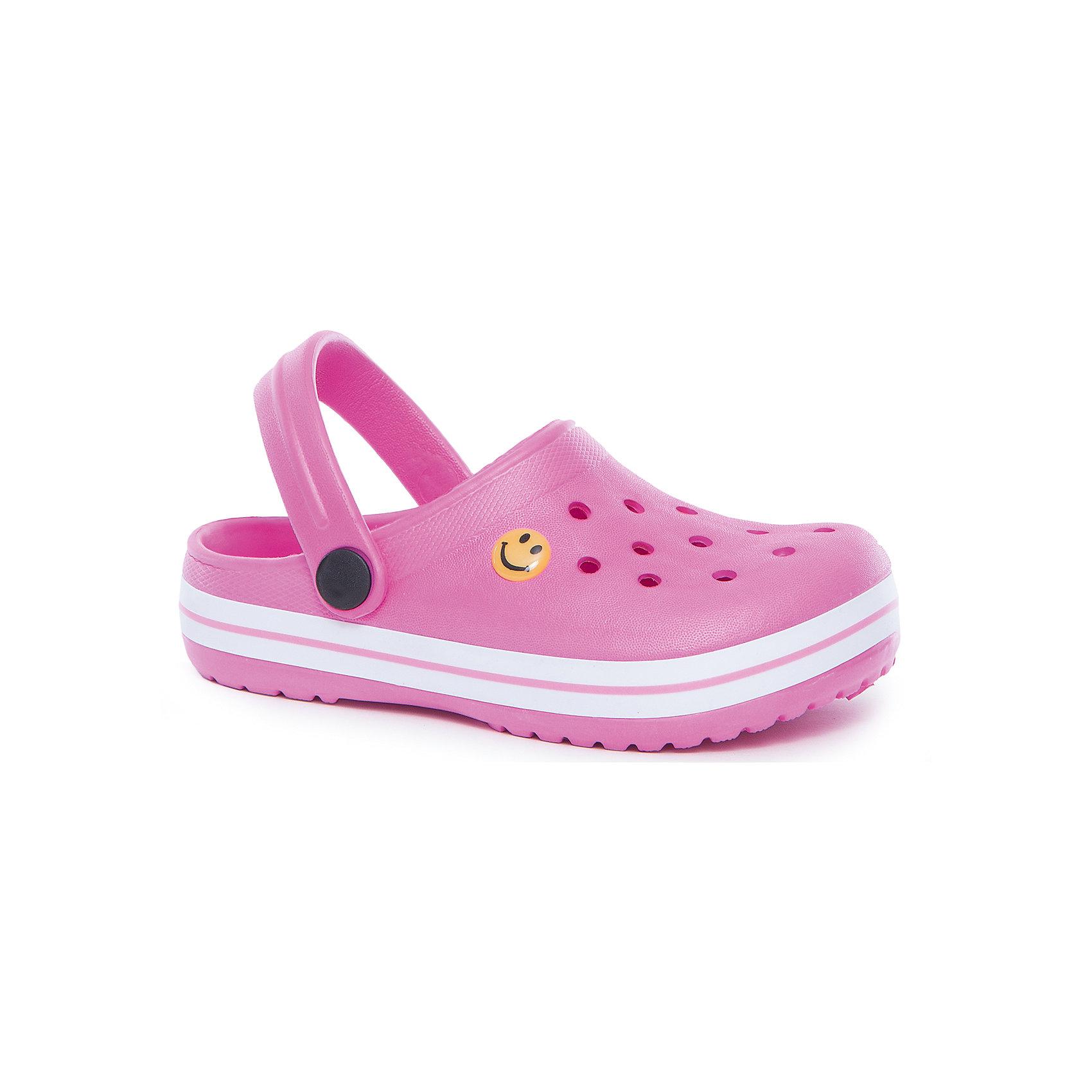 Пантолеты для девочки PlayTodayПантолеты для девочки PlayToday<br>Удобные пантолеты (кроксы) прекрасно подойдут и для поездки на пляж, и для дачи. Модель с подвижным запяточным ремнем, который можно откинуть , что позволяет легко снимать и одевать обувь. Изготовлены из легкого материала. Перфорация в верхней части обеспечивает вентиляцию ноги<br>Состав:<br>100% этилвинилацетат<br><br>Ширина мм: 225<br>Глубина мм: 139<br>Высота мм: 112<br>Вес г: 290<br>Цвет: разноцветный<br>Возраст от месяцев: 96<br>Возраст до месяцев: 108<br>Пол: Женский<br>Возраст: Детский<br>Размер: 32,28,29,30,31<br>SKU: 5404648