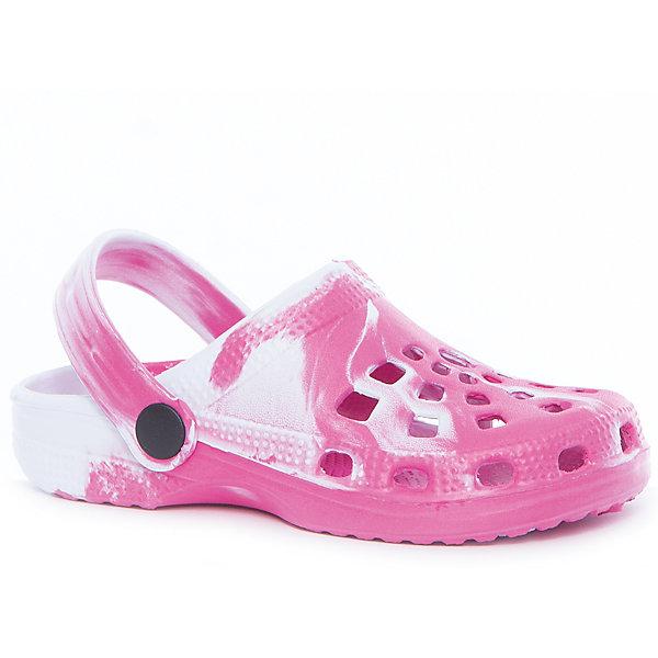 Сабо для девочки PlayTodayПляжная обувь<br>Характеристики товара:<br><br>• цвет: розовый<br>• состав: этилвинилацетат<br>• стильный дизайн<br>• качественный материал<br>• устойчивая подошва<br>• фиксация пятки<br>• легкие<br>• комфортная посадка<br>• коллекция: весна-лето 2017<br>• страна бренда: Германия<br>• страна производства: Китай<br><br>Популярный бренд PlayToday выпустил новую коллекцию! Вещи из неё продолжают радовать покупателей удобством, стильным дизайном и продуманным кроем. Дети носят их с удовольствием. PlayToday - это линейка товаров, созданная специально для детей. Дизайнеры учитывают новые веяния моды и потребности детей. Порадуйте ребенка обновкой от проверенного производителя!<br>Эти пантолеты обеспечат ребенку комфорт благодаря качественному материалу и удобной форме. Они удобно сидят, не сковывают движения - отличный вариант обуви для детей. Не натирают, позволяют коже дышать.<br><br>Пантолеты для девочки от известного бренда PlayToday можно купить в нашем интернет-магазине.<br><br>Ширина мм: 225<br>Глубина мм: 139<br>Высота мм: 112<br>Вес г: 290<br>Цвет: белый<br>Возраст от месяцев: 48<br>Возраст до месяцев: 60<br>Пол: Женский<br>Возраст: Детский<br>Размер: 28,32,31,30,29<br>SKU: 5404666
