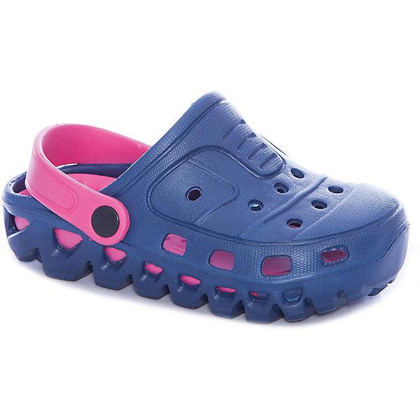 Сабо для девочки PlayTodayПляжная обувь<br>Характеристики товара:<br><br>• цвет: синий, розовый<br>• состав: этилвинилацетат<br>• стильный дизайн<br>• качественный материал<br>• устойчивая подошва<br>• фиксация пятки<br>• легкие<br>• комфортная посадка<br>• коллекция: весна-лето 2017<br>• страна бренда: Германия<br>• страна производства: Китай<br><br>Популярный бренд PlayToday выпустил новую коллекцию! Вещи из неё продолжают радовать покупателей удобством, стильным дизайном и продуманным кроем. Дети носят их с удовольствием. PlayToday - это линейка товаров, созданная специально для детей. Дизайнеры учитывают новые веяния моды и потребности детей. Порадуйте ребенка обновкой от проверенного производителя!<br>Эти пантолеты обеспечат ребенку комфорт благодаря качественному материалу и удобной форме. Они удобно сидят, не сковывают движения - отличный вариант обуви для детей. Не натирают, позволяют коже дышать.<br><br>Пантолеты для девочки от известного бренда PlayToday можно купить в нашем интернет-магазине.<br>Ширина мм: 225; Глубина мм: 139; Высота мм: 112; Вес г: 290; Цвет: белый; Возраст от месяцев: 36; Возраст до месяцев: 48; Пол: Женский; Возраст: Детский; Размер: 27,31,30,29,28; SKU: 5404730;